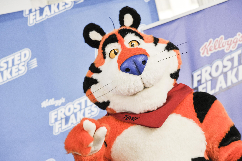 Tony The Tiger Press Conference