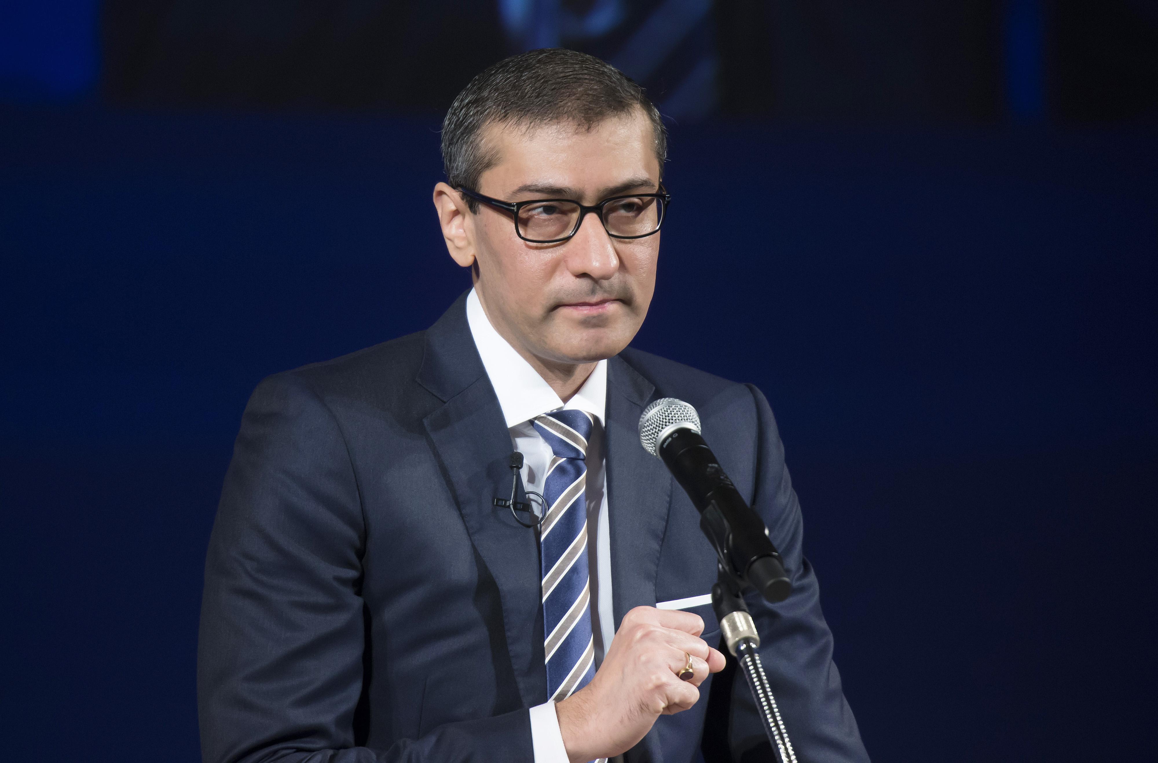 Rajeev Suri, president and chief executive officer of Nokia.