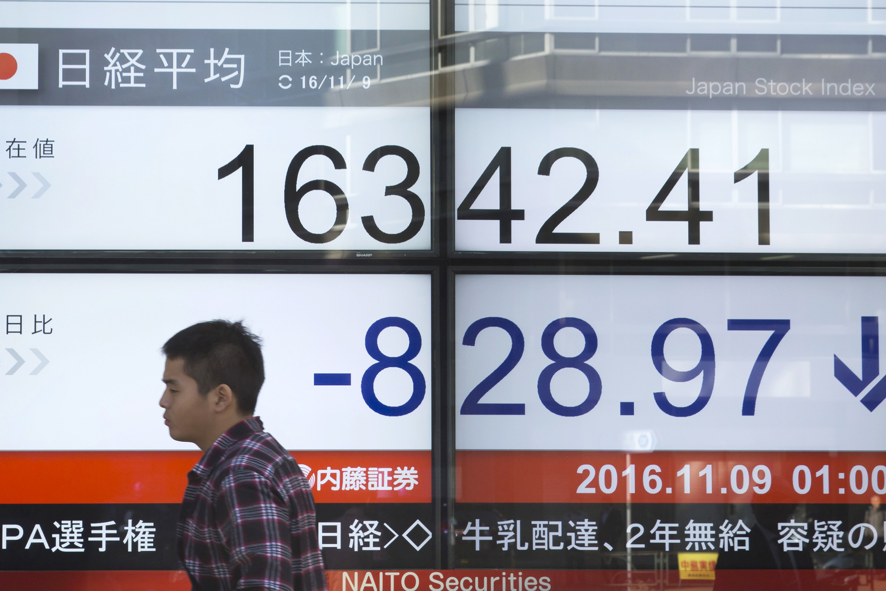 Japan Reaction to The U.S. Presidential Election Result