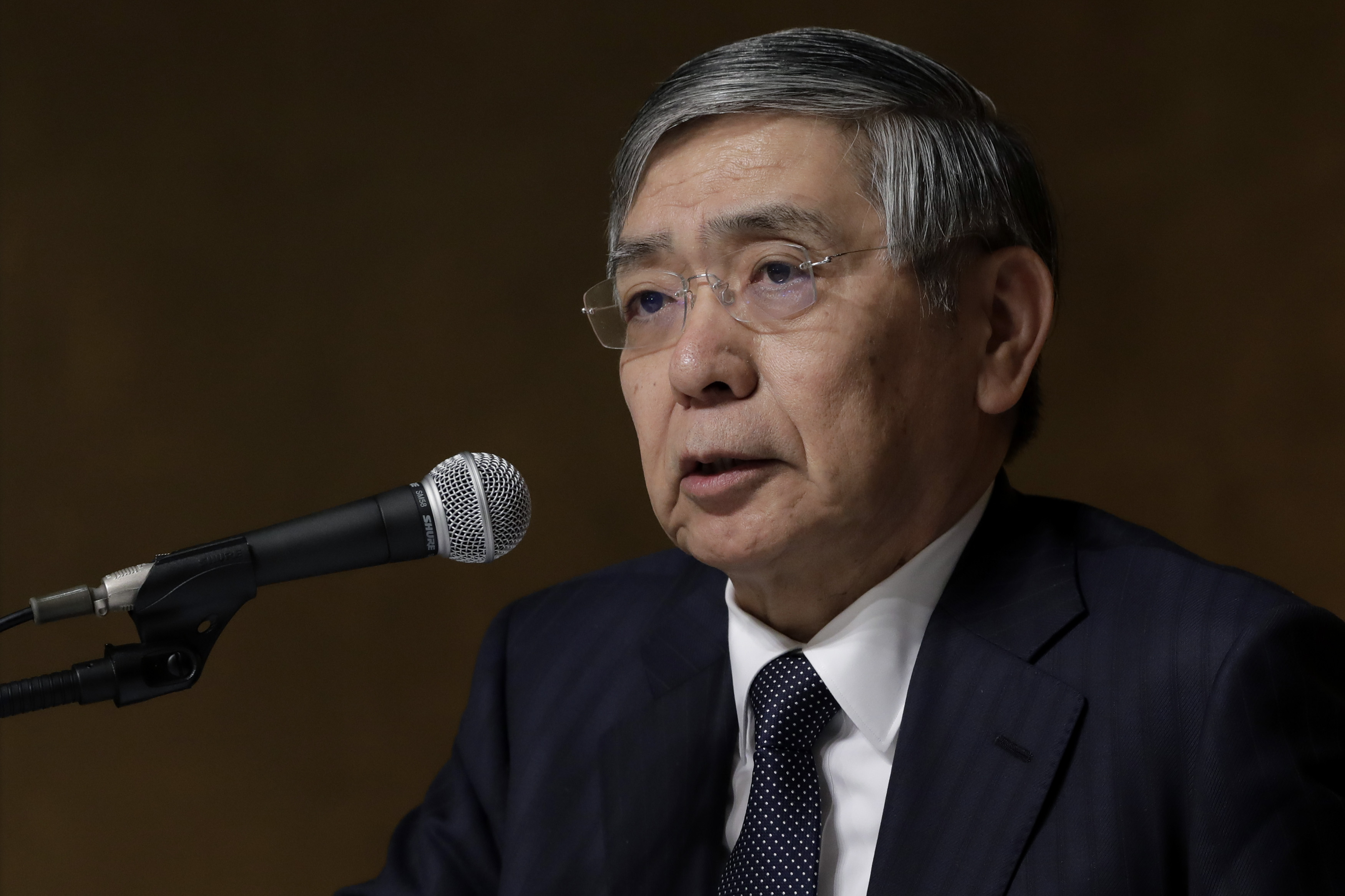 Bank Of Japan Governor Haruhiko Kuroda Speech and News Conference