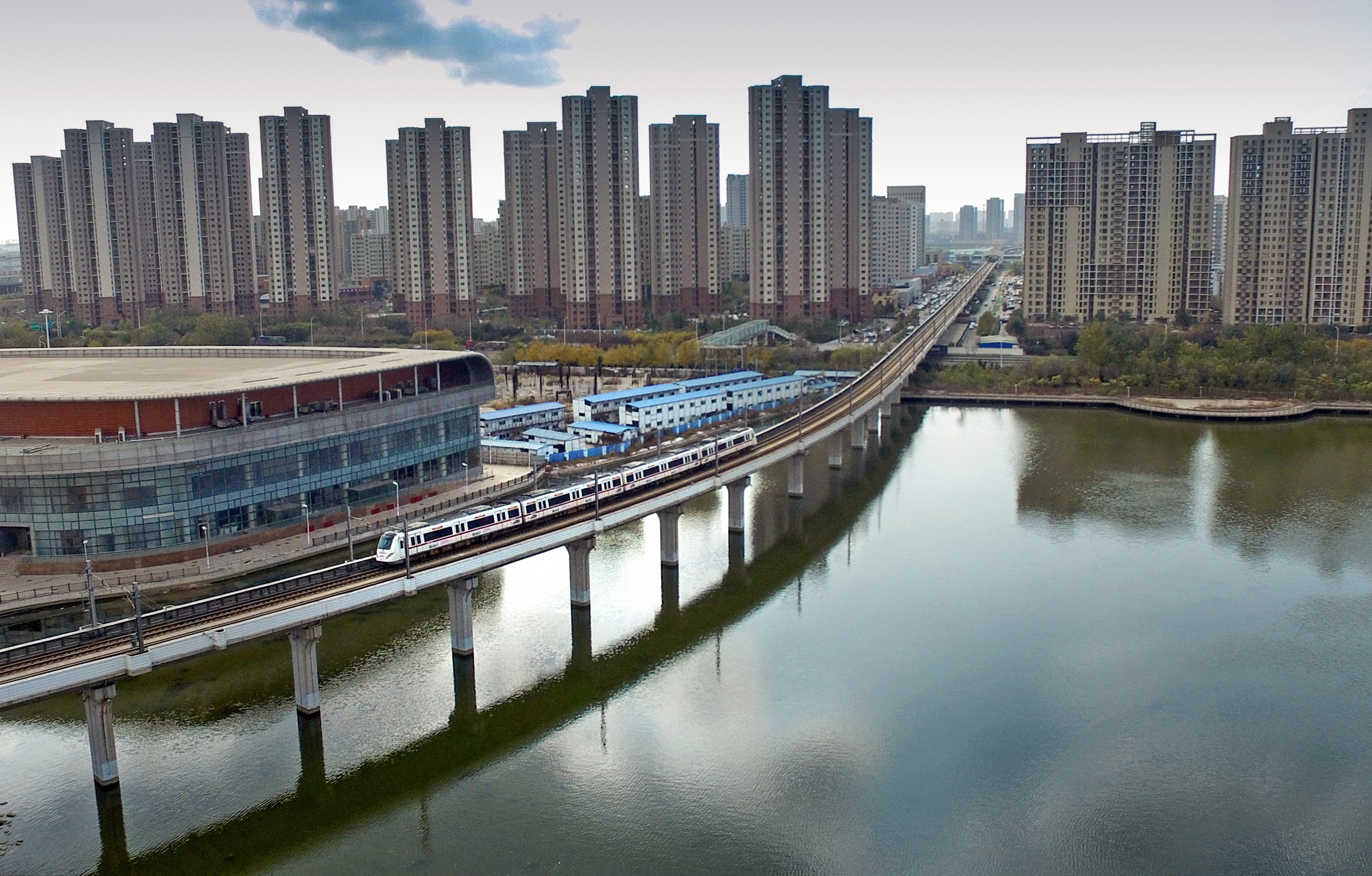 Rebuilt Tianjin Metro Line 9 Starts Trail Operation