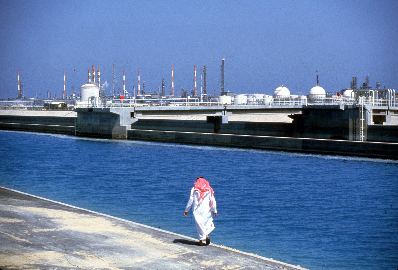 Oil refinery plant in Saudi Arabia