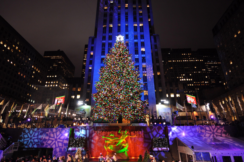 Lighting Of Rockefeller Christmas Tree.The Rockefeller Center Christmas Tree Is On Its Way Fortune