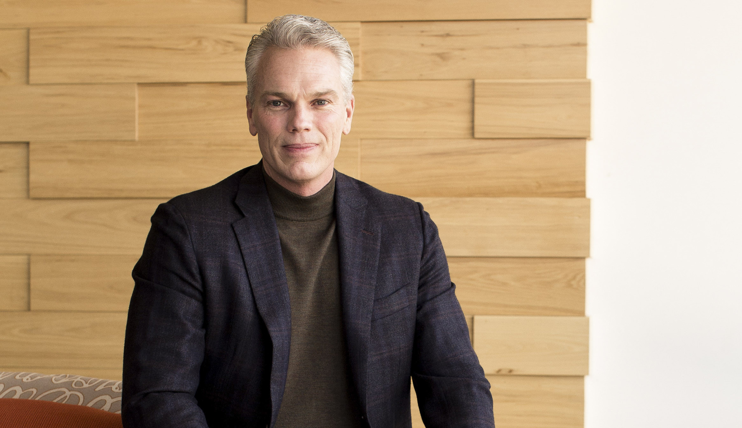 Brad Smith, chief executive of Intuit, at the company headquarters in Mountain View, Calif.