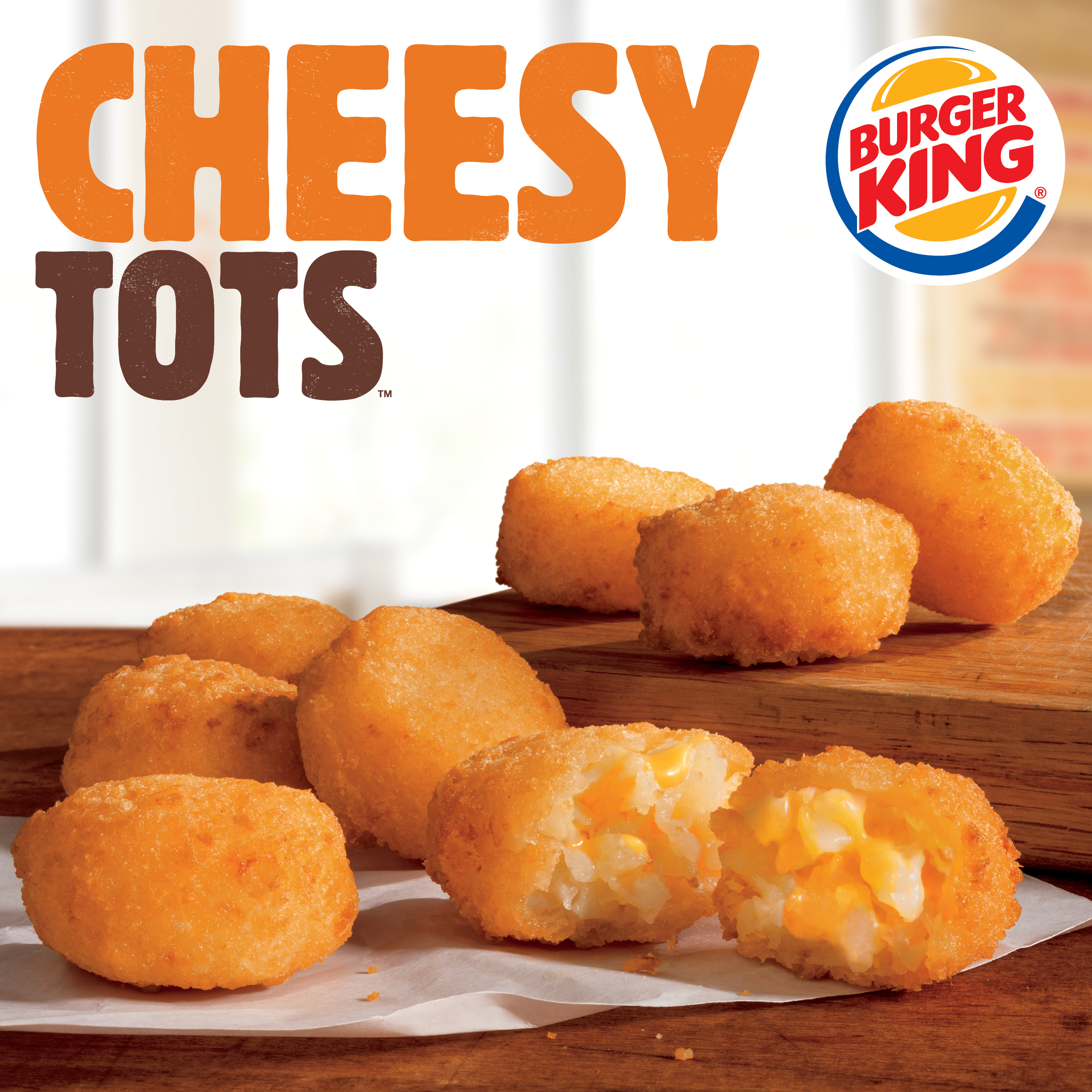 Burger King's Cheesy Tots.
