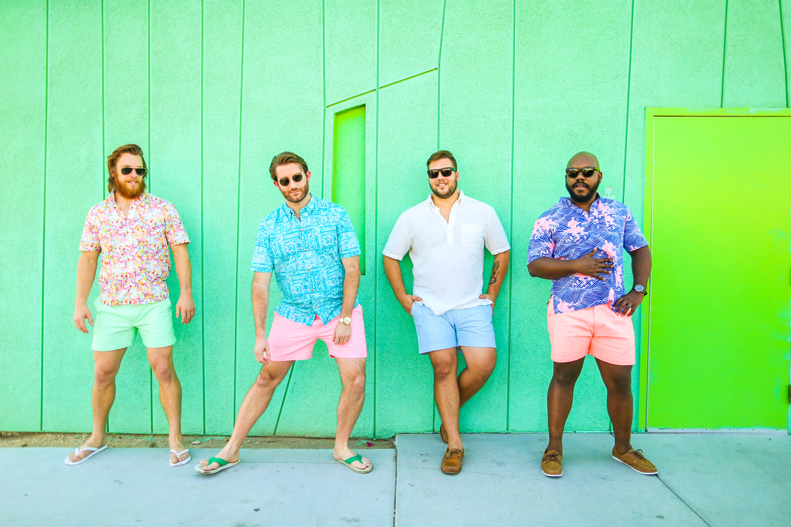Chubbies is best known for its colorful men's shorts.