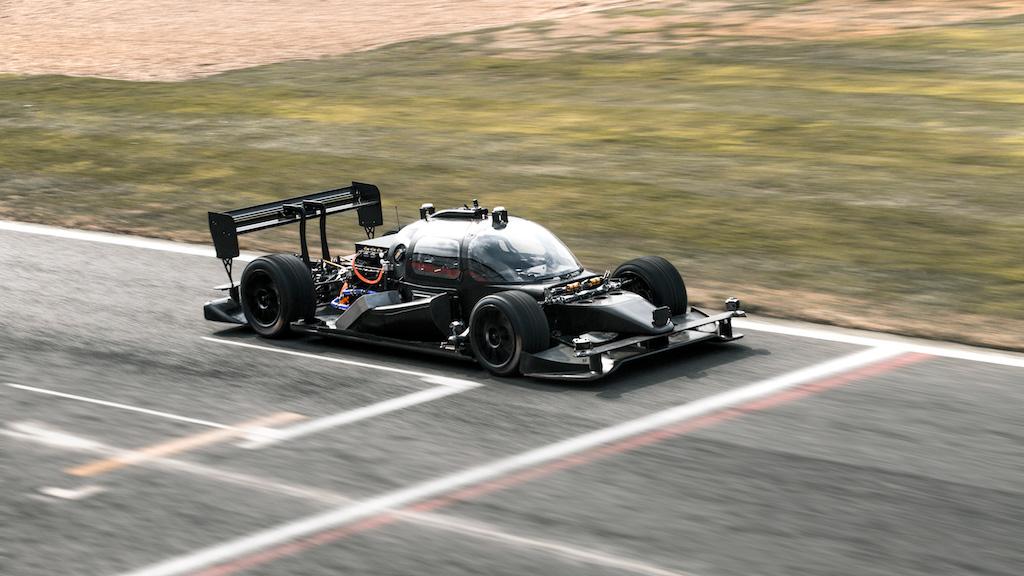 Roborace is developing a driverless race car.