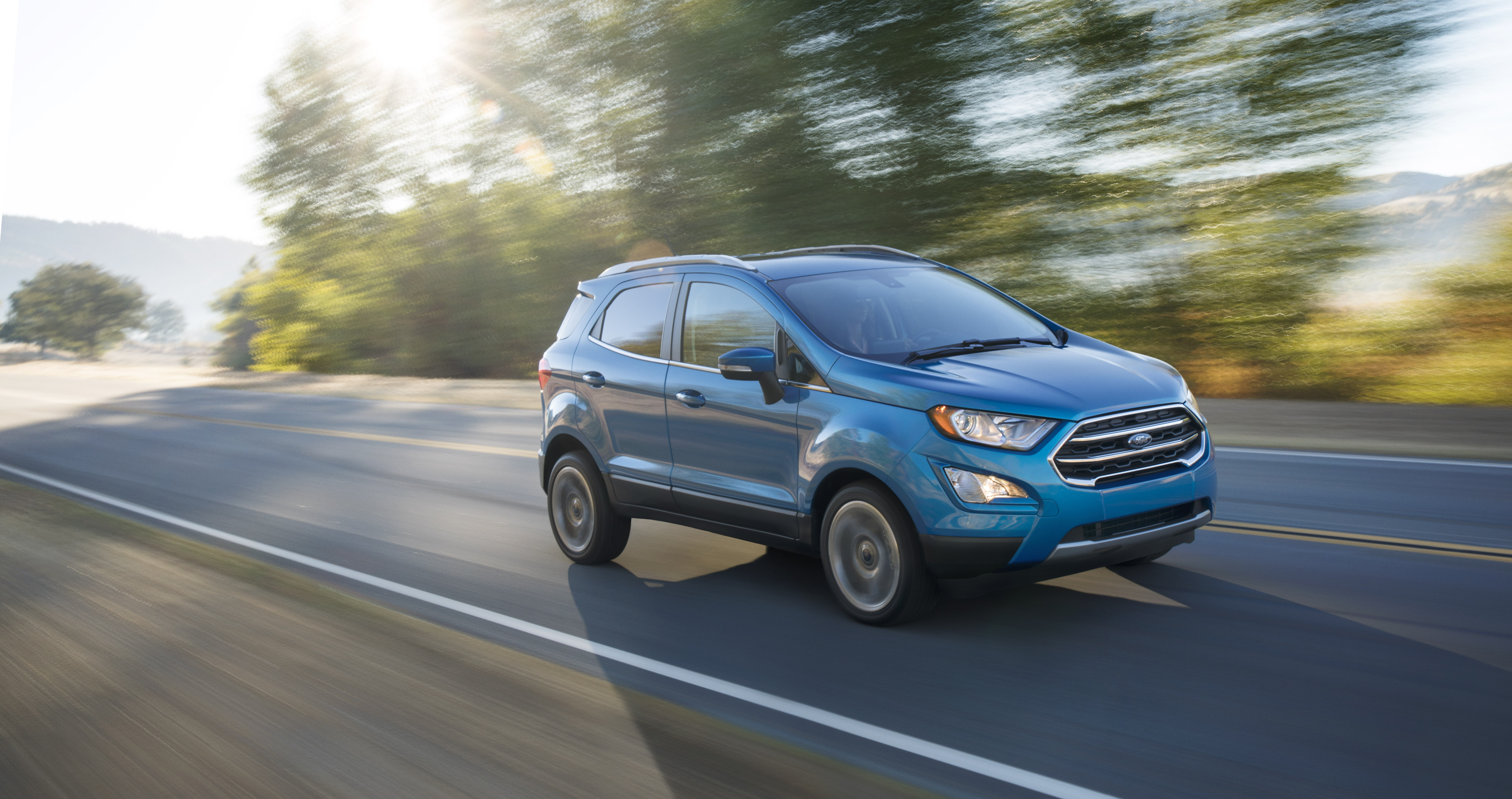 The new Ford EcoSport.