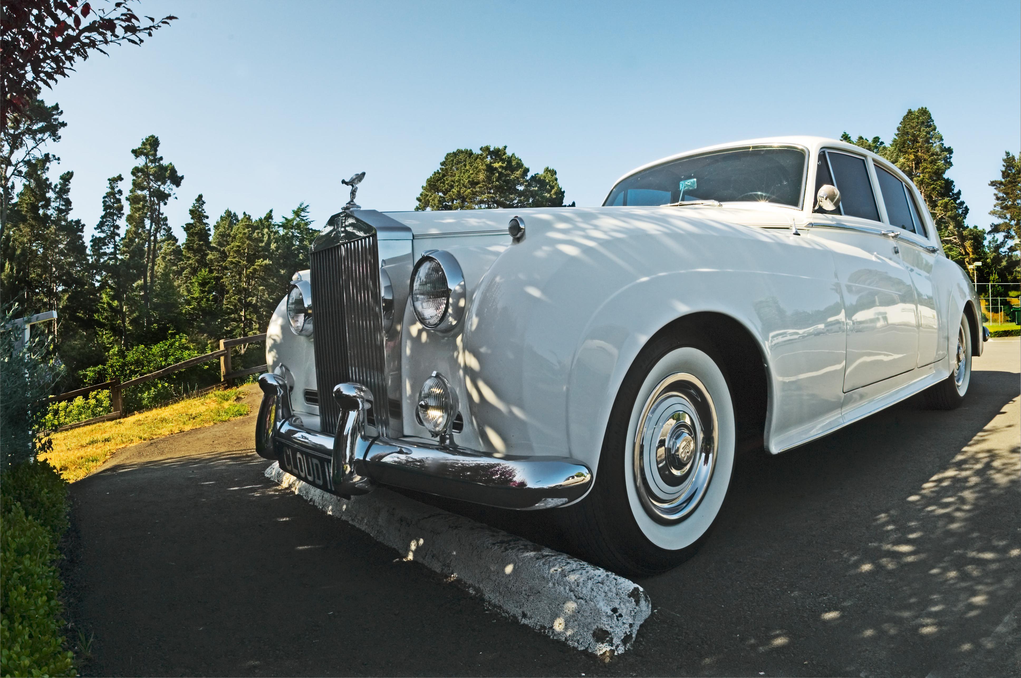 A classic Rolls Royce.