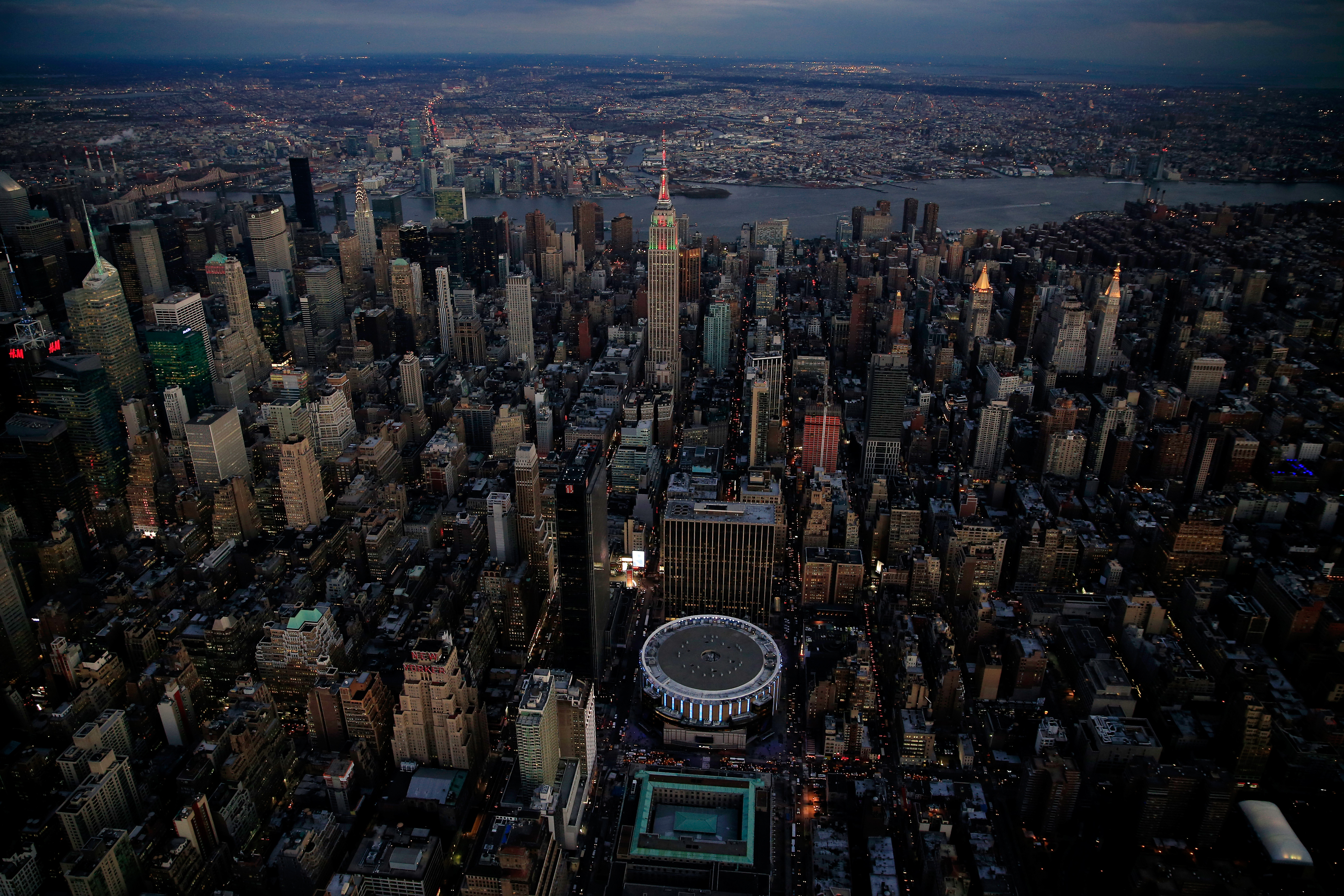 Aerial Views of New York City