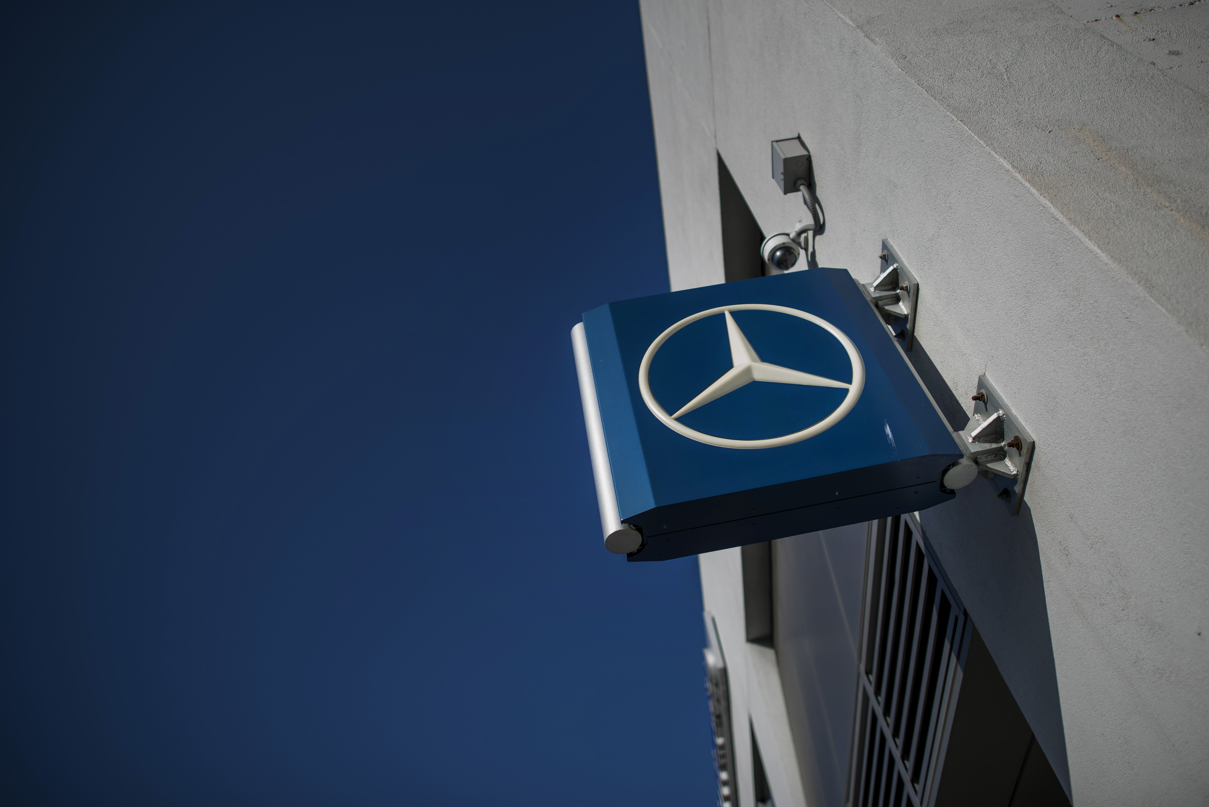 A Daimler AG Mercedes-Benz Dealership As Automaker Reports Record Sales Gain