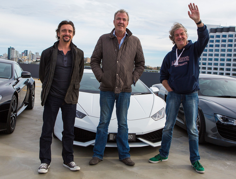 Jeremy Clarkson, Richard Hammond and James May Press Conference