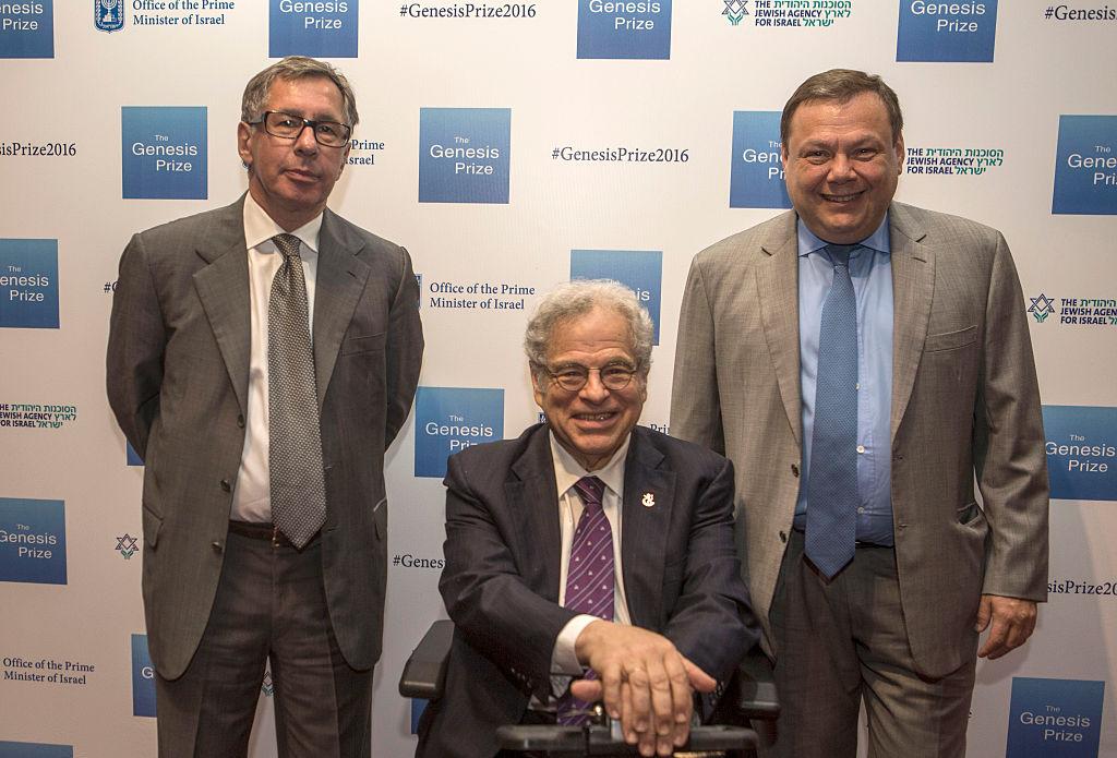The Third Annual Genesis Prize Award Ceremony Honoring Itzhak Perlman