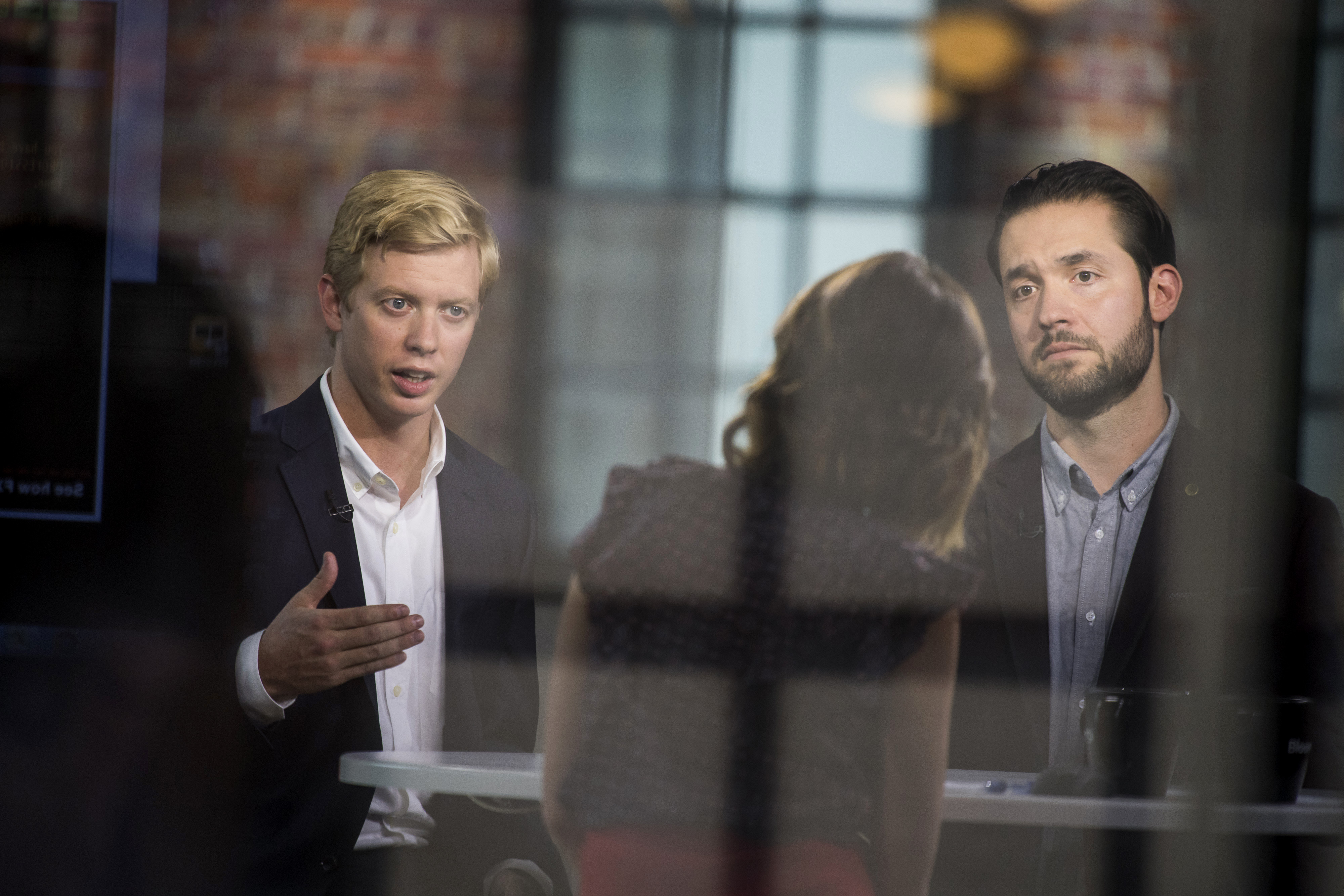 Reddit Inc. Founders Alexis Ohanian And Steve Huffman Interview