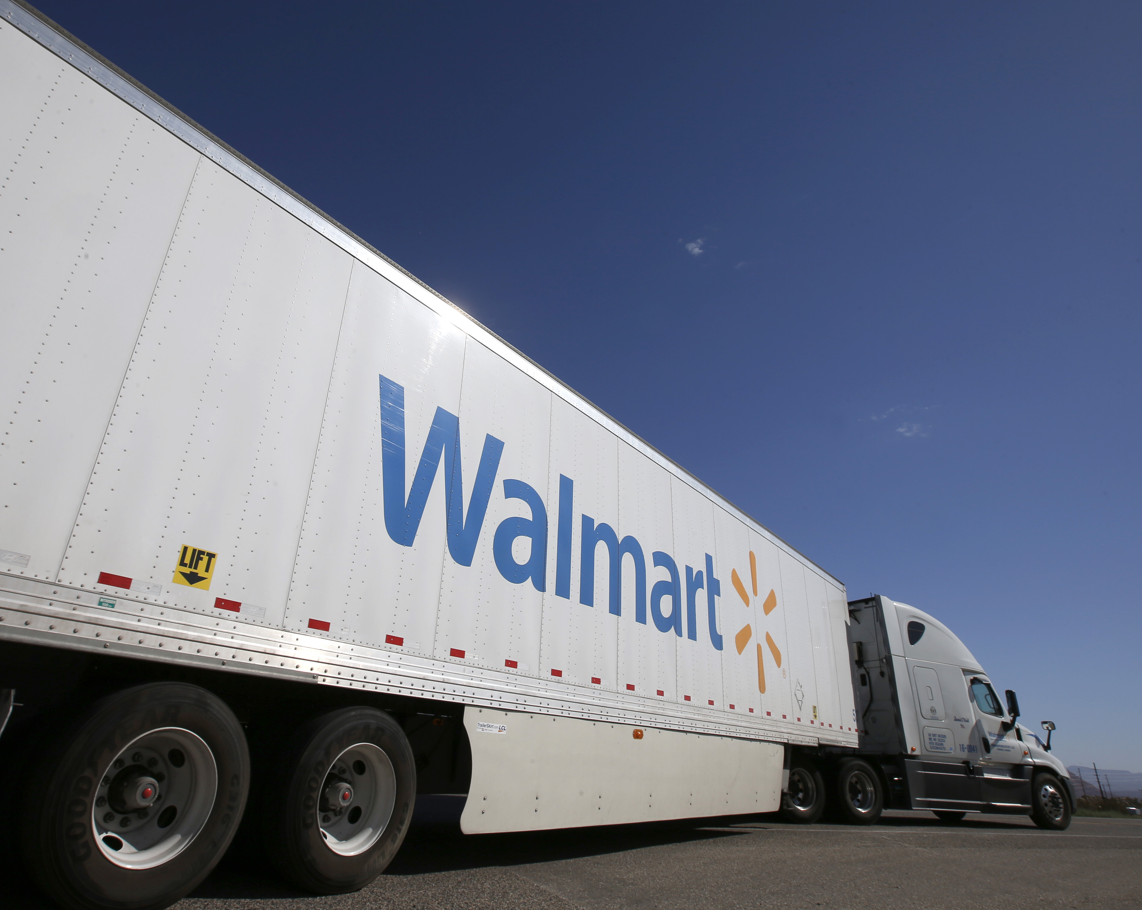 A Wal-Mart Stores Inc. Distribution Facility Ahead Of Chain Store Sales Figures