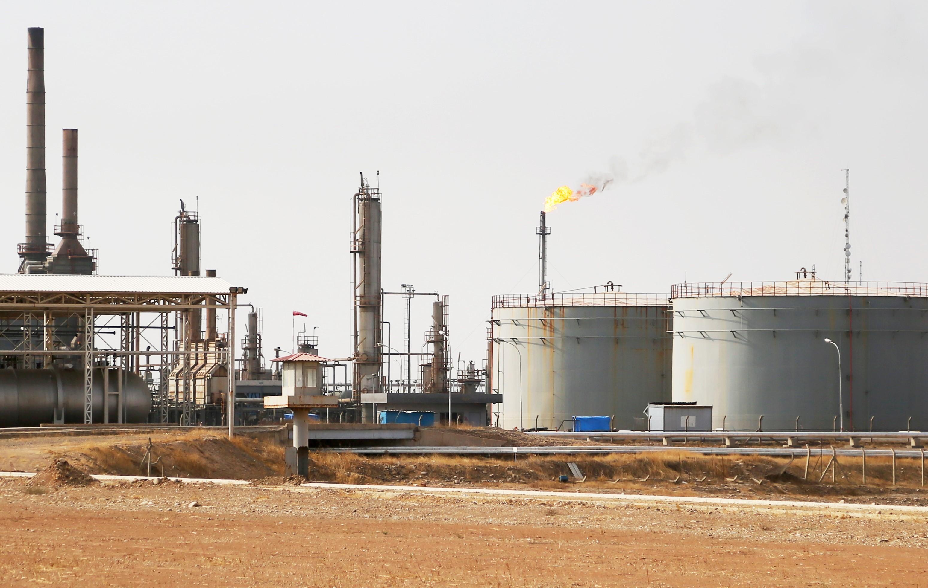 Erbil oil refinery
