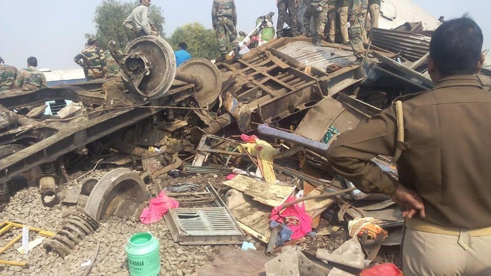 Scores dead in north India train derailment