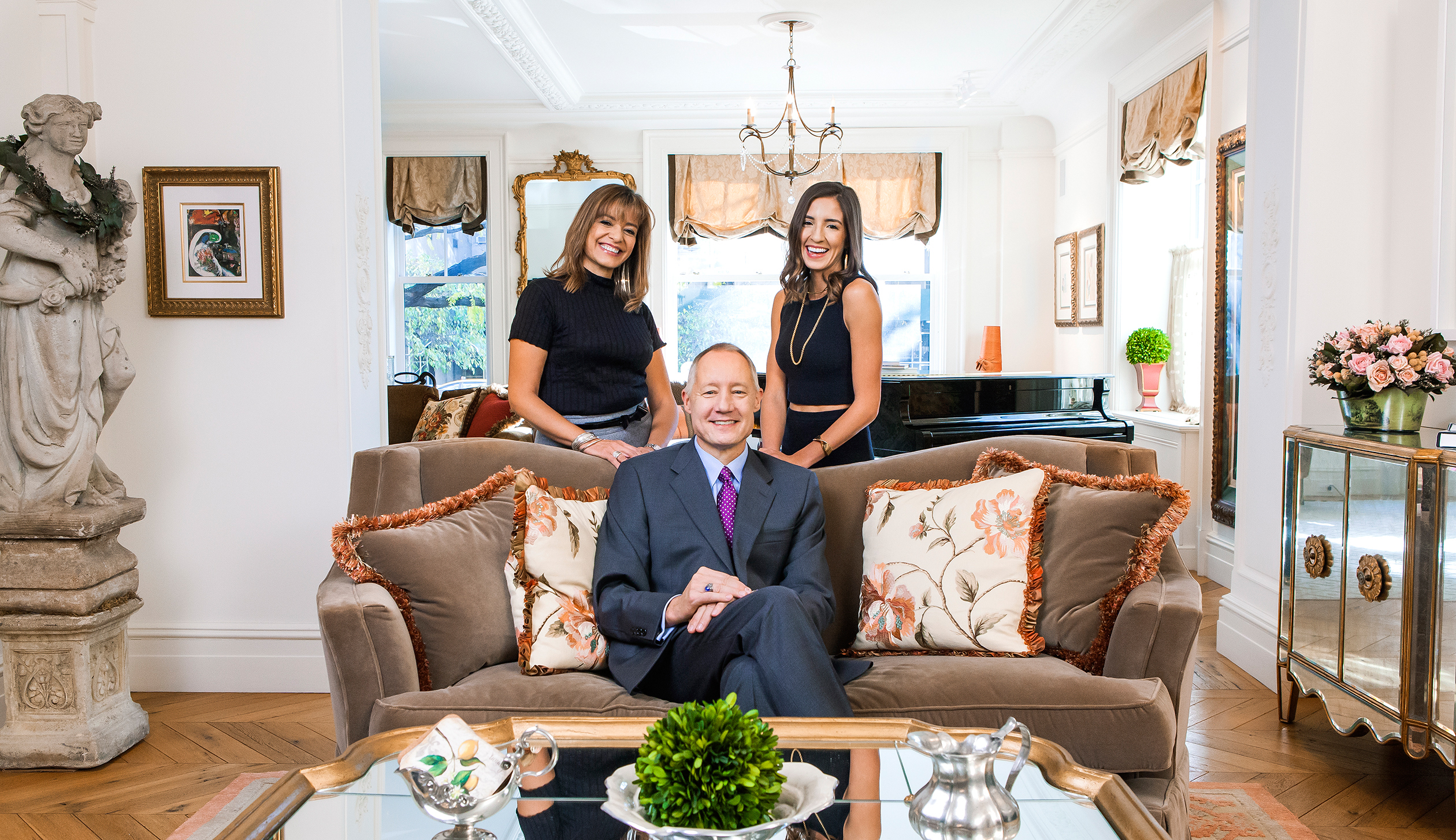 The Cordes family—Marty, Ron, and Stephanie (from left)—have designed an estate plan that will secure a future for their philanthropy.