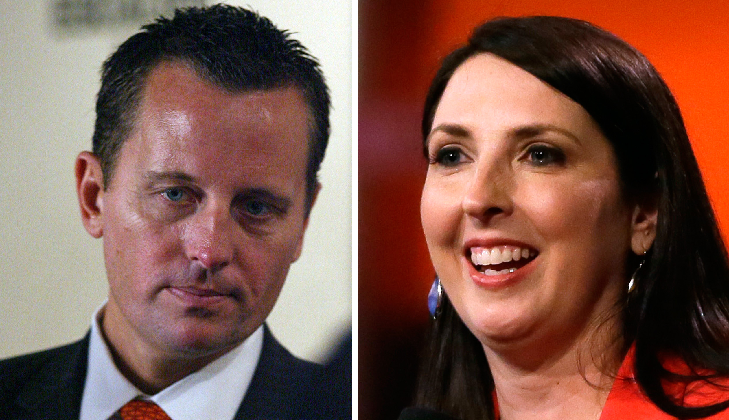 Richard Grenell and Ronna Romney McDaniel