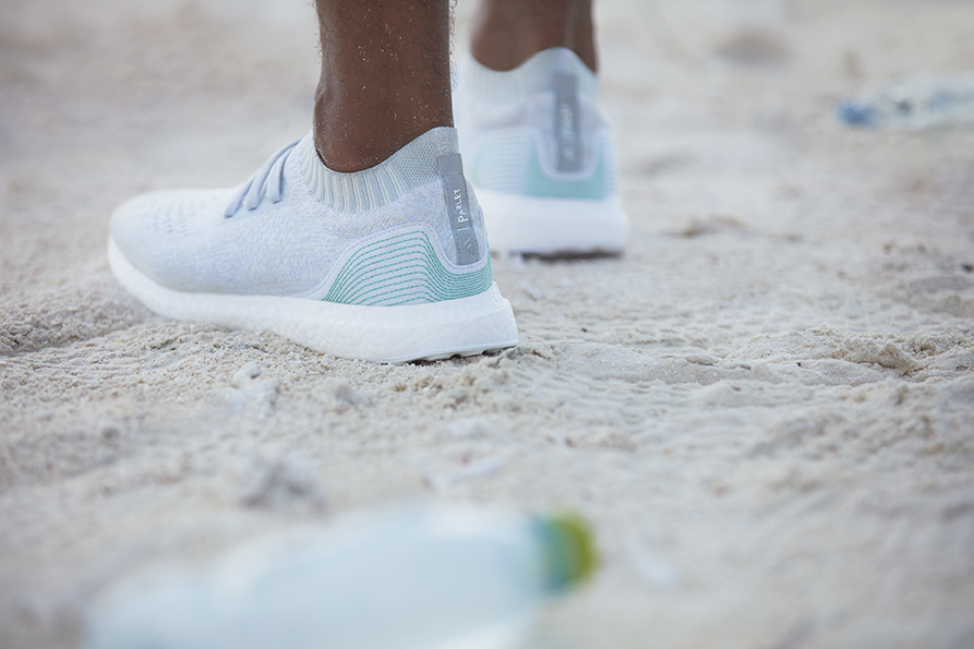 Adidas has committed to making one million pairs of UltraBOOST shoes made with ocean plastic by the end of 2017.