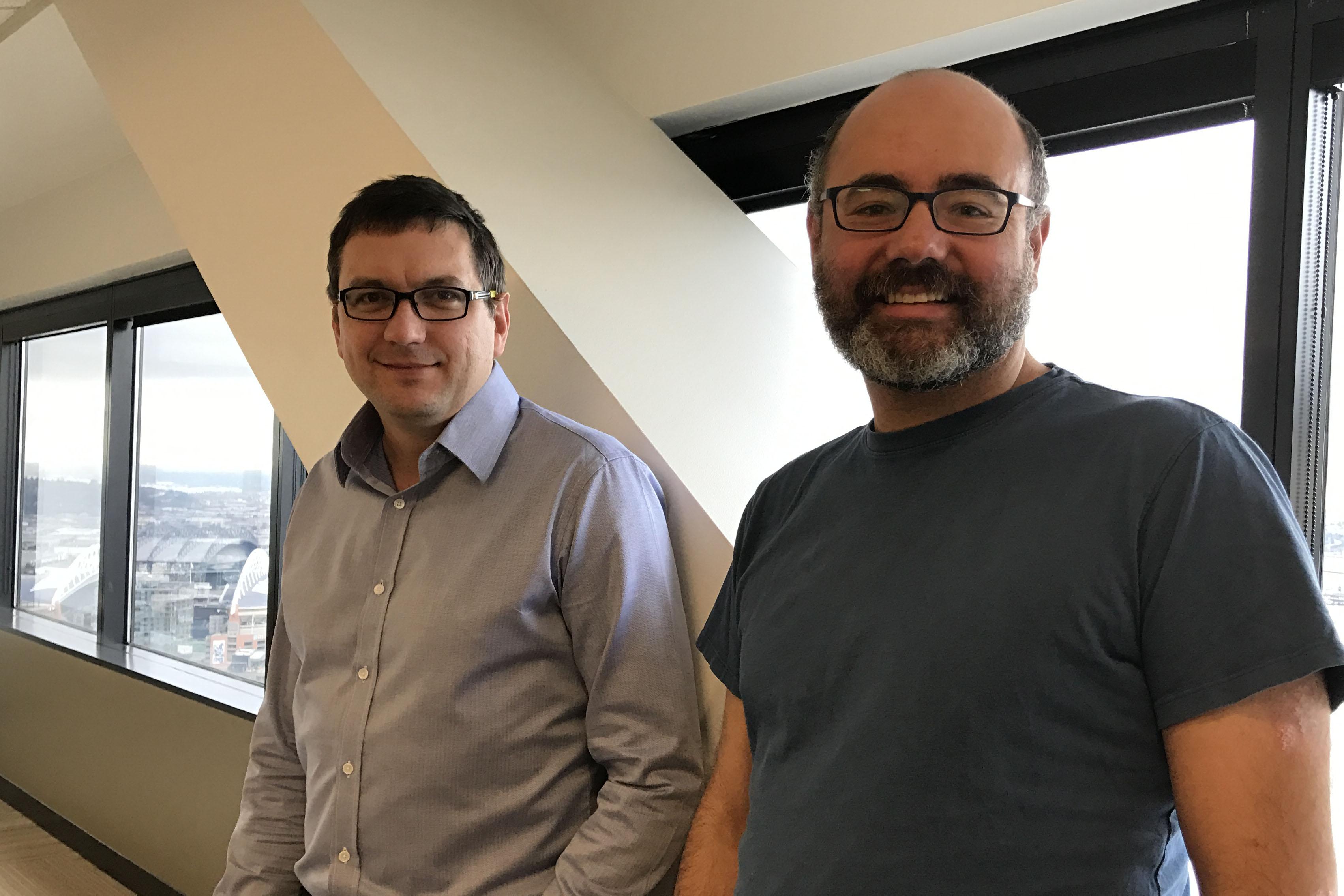 Craig McLuckie and Joe Beda, co-founders of Heptio.