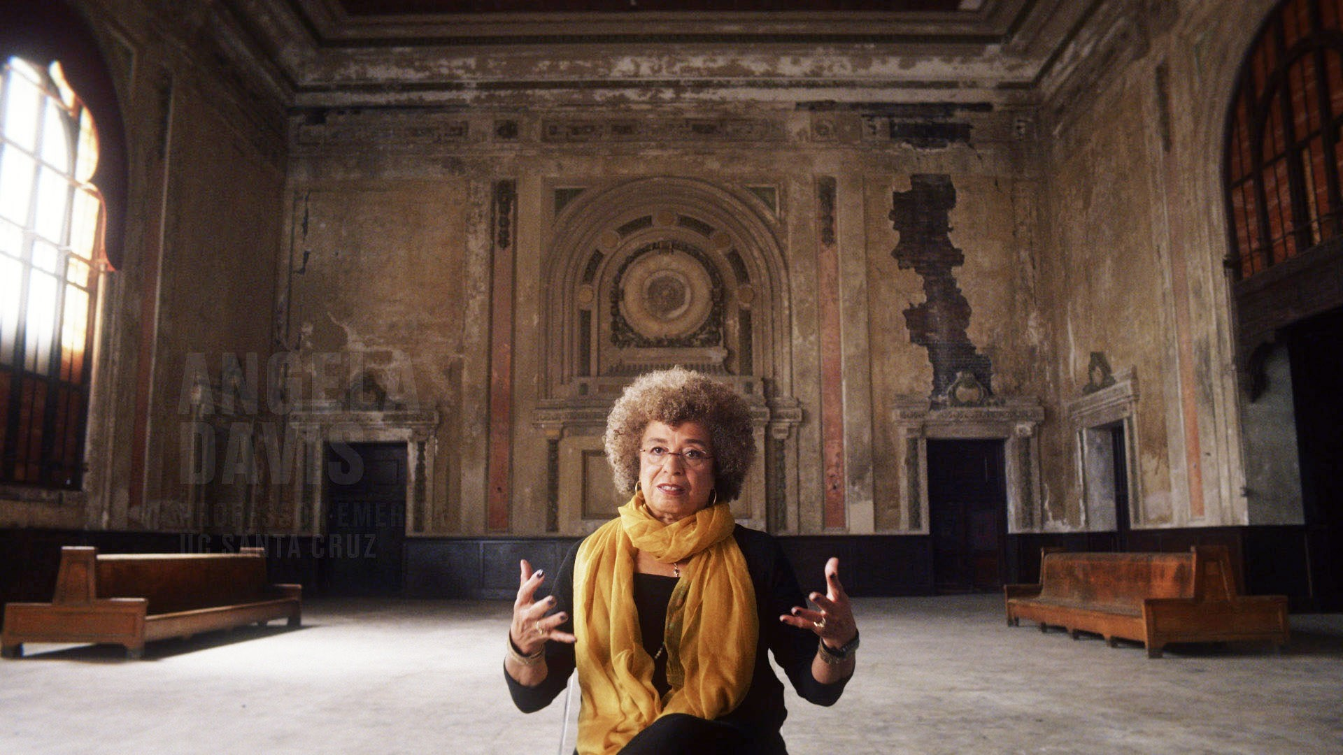THE 13th, Angela Davis, 2016. ©Netflix/courtesy Everett collection.
