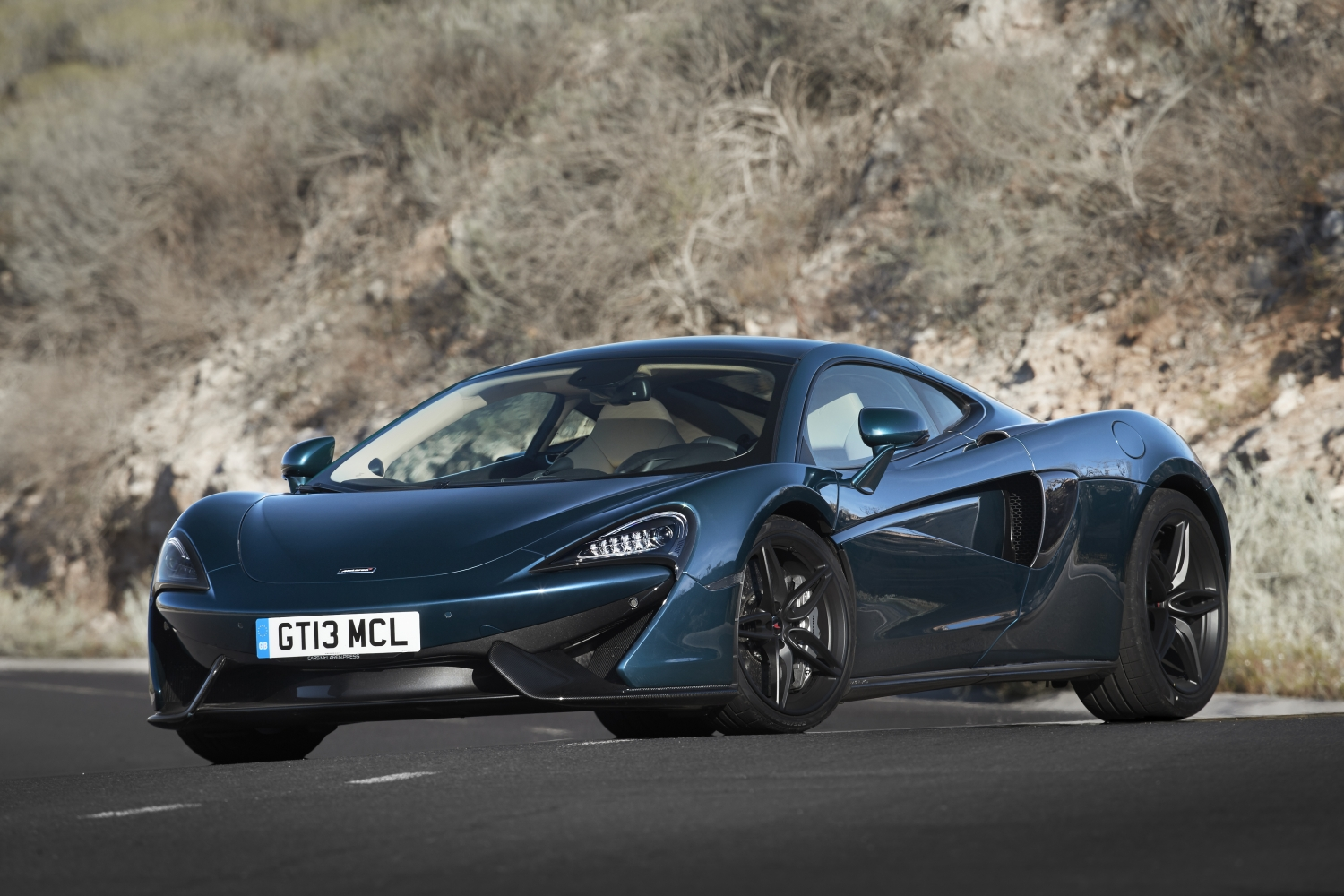 McLaren's 570GT is a grand tourer disguised as a sports car.