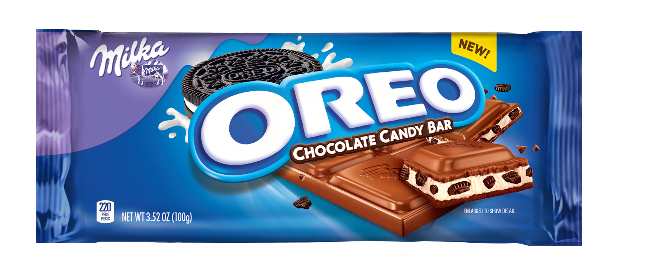 One of the two new Oreo candy bars.