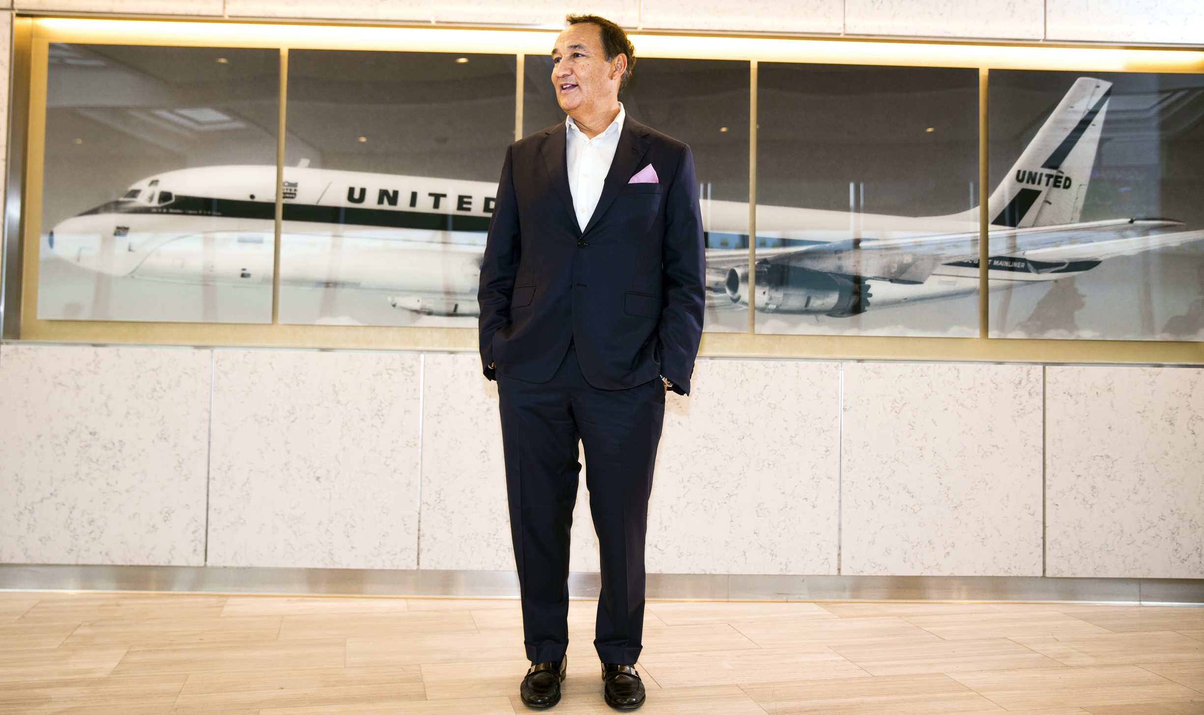 Oscar Munoz, CEO United Continental. Can he close the gap with rivals Delta and American?