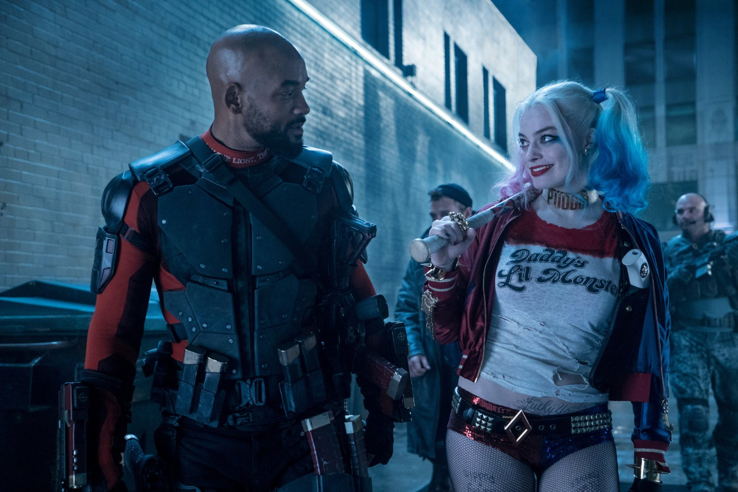 """Will Smith and Margot Robbie in """"Suicide Squad."""""""