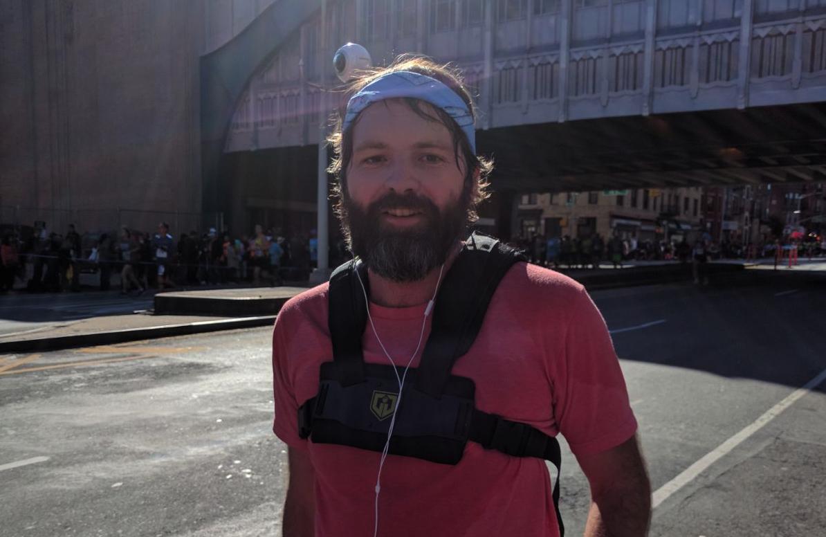 VR marathoner Alex Christison