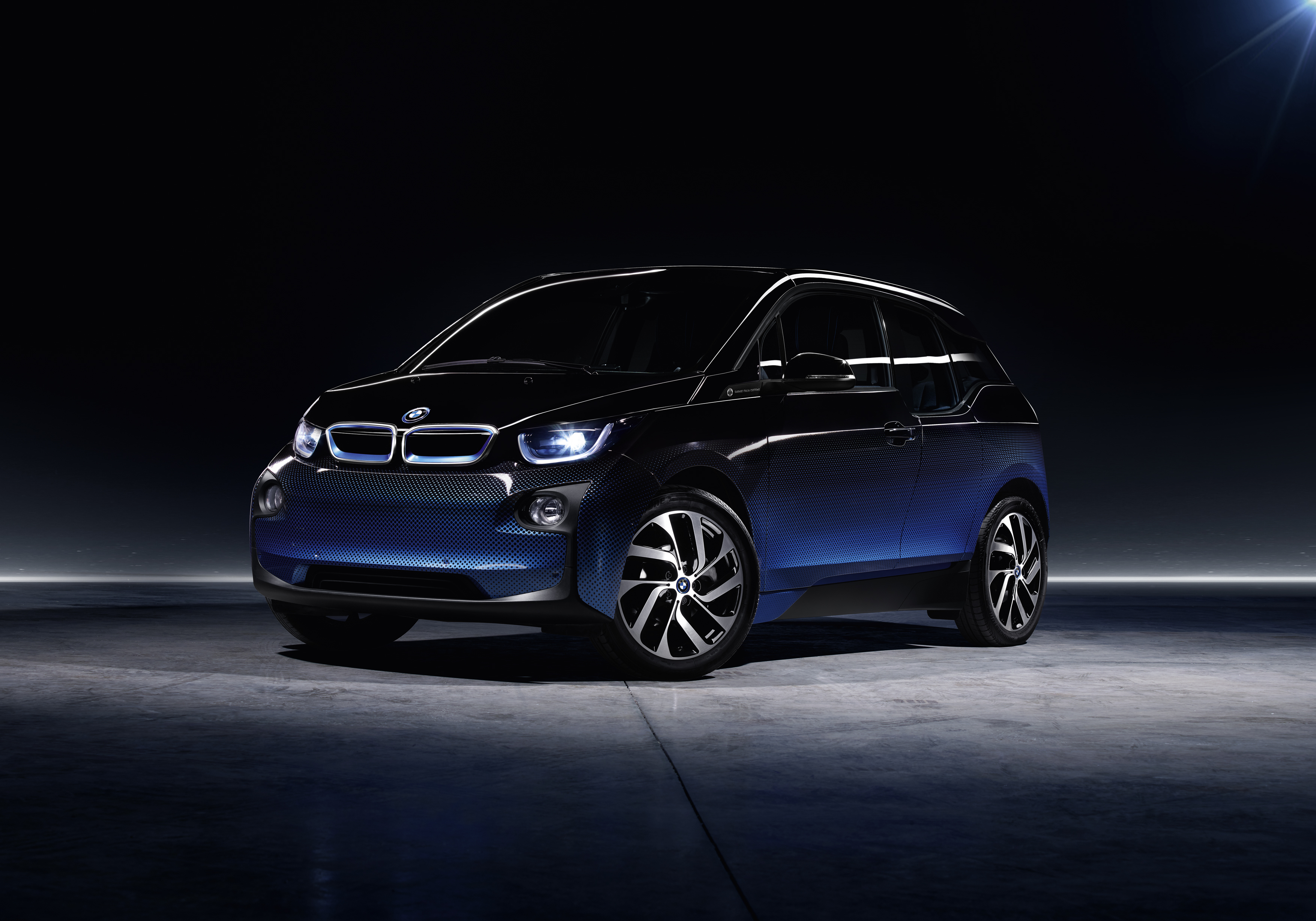 The BMW i3 electric car.