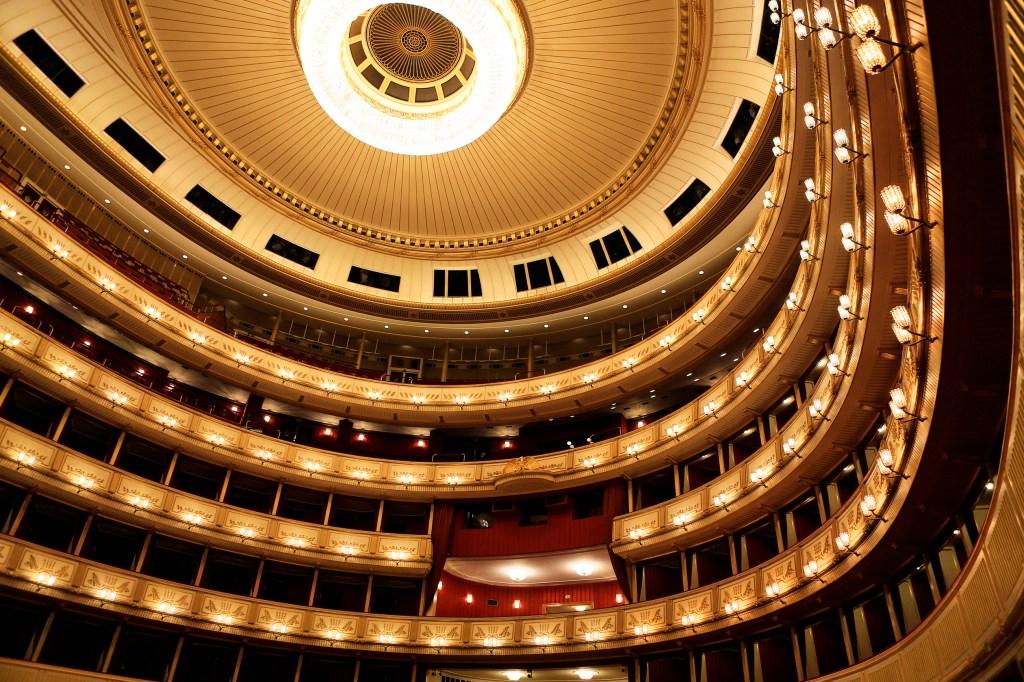 (Wiener Staatsoper) interior