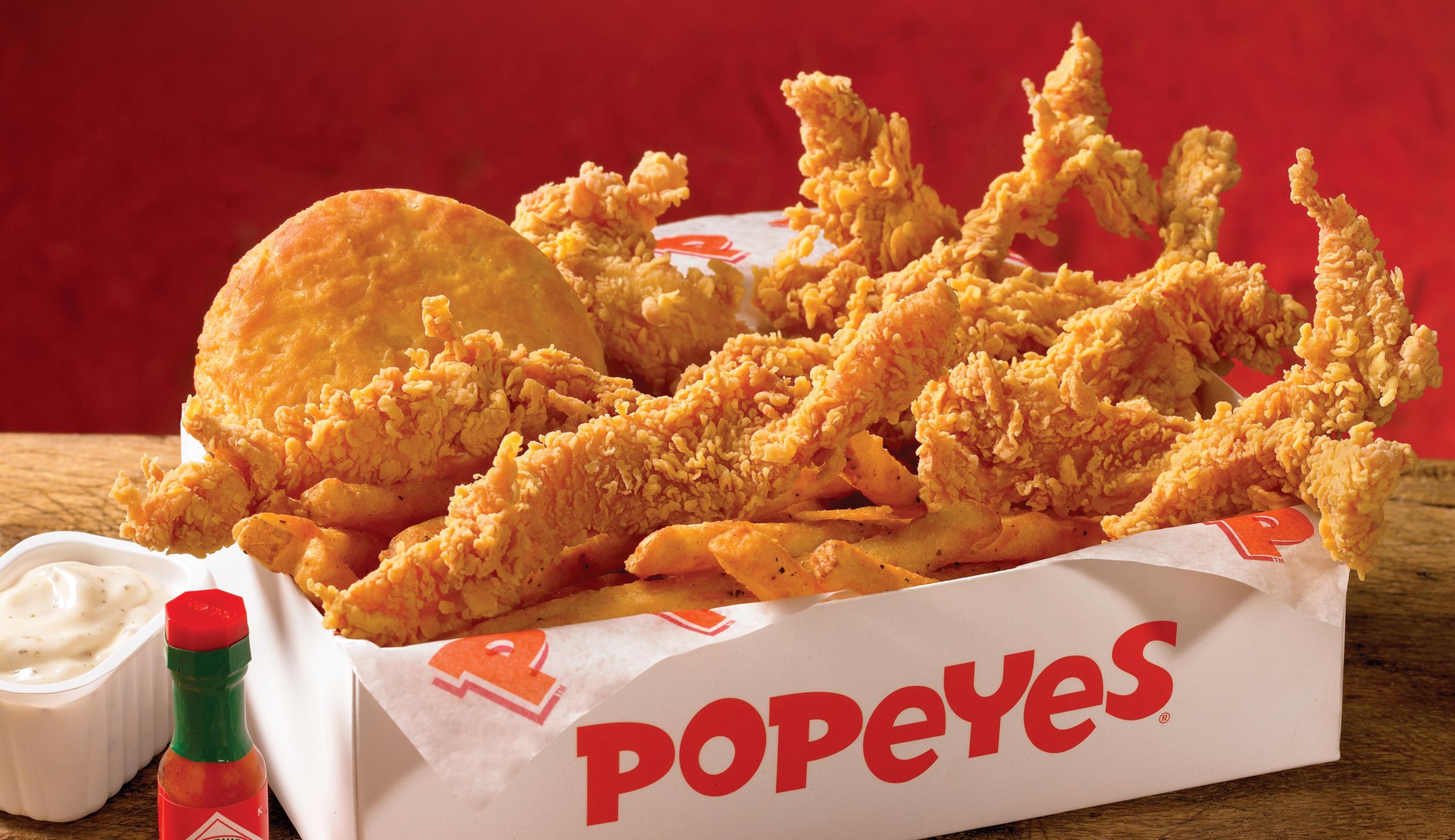 Popeyes chicken.