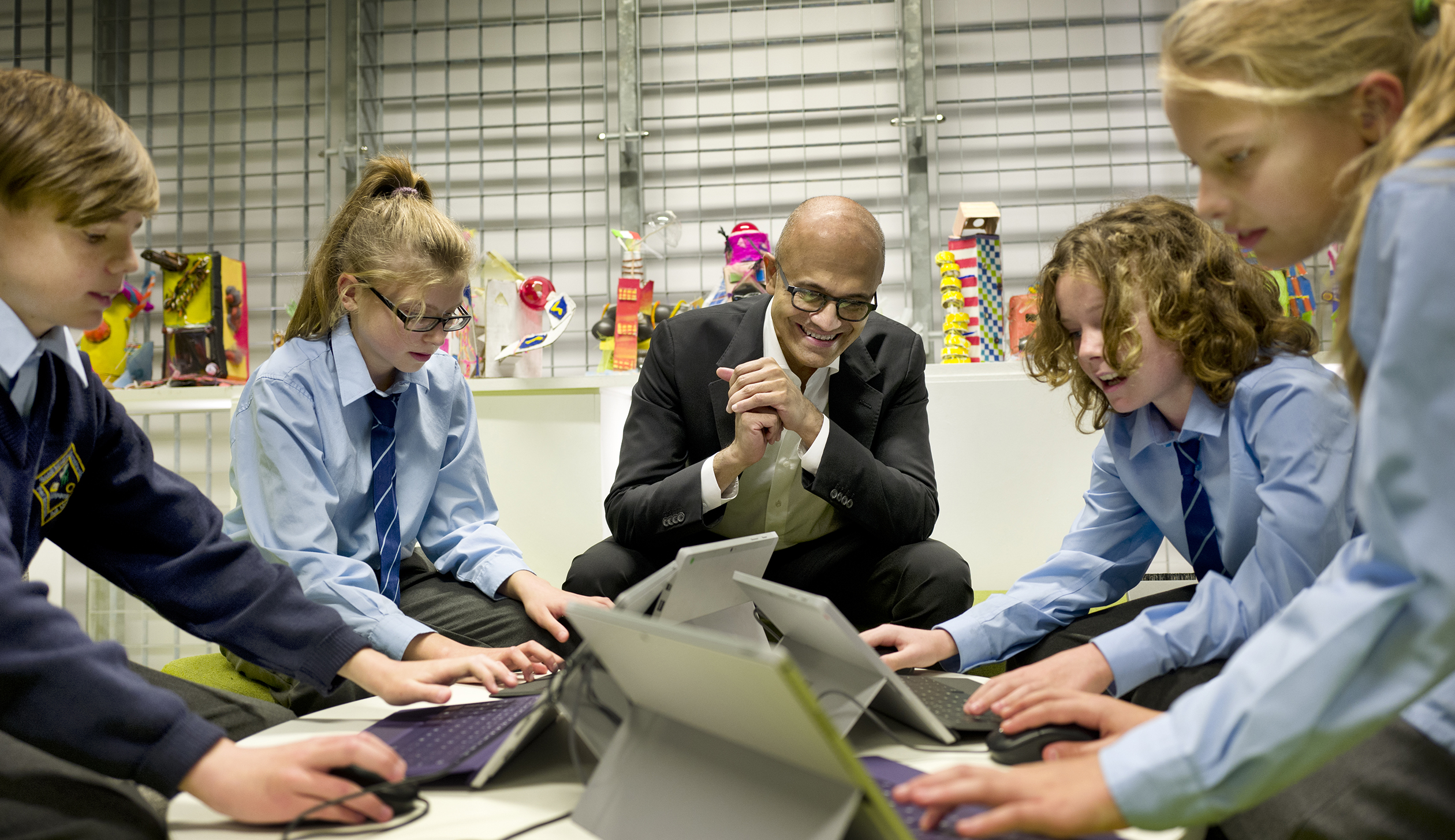 DUBLIN, IRLAND- OCT, 3rd, 2016: Satya Nadella (Picture by Veronique de Viguerie/ Reportage by Getty Images)