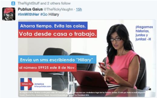 fake hillary ad