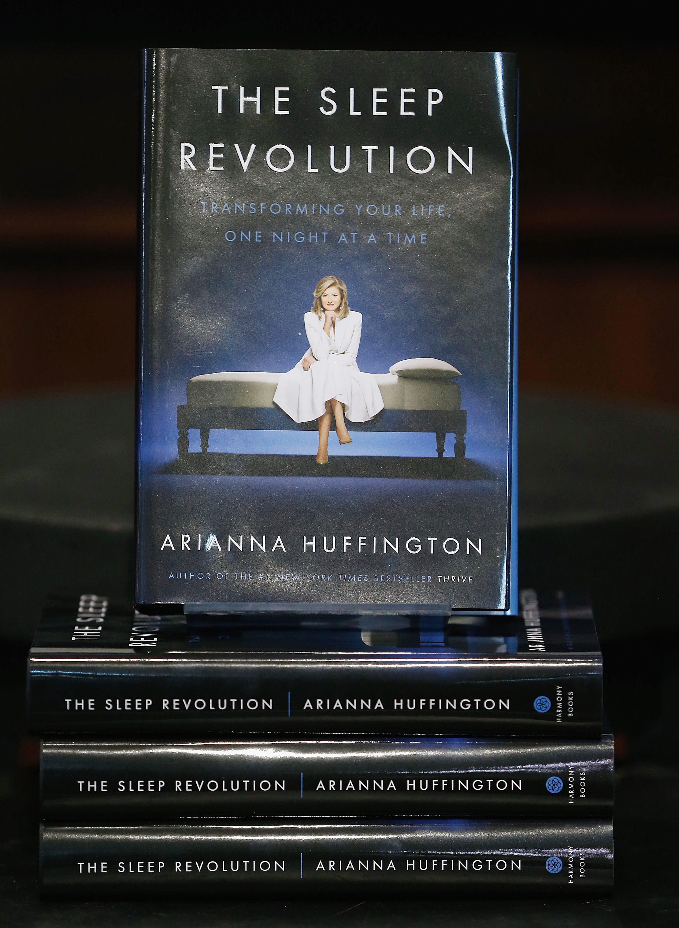 Arianna Huffington's 'The Sleep Revolution: Transforming Your Life, One Night At A Time'