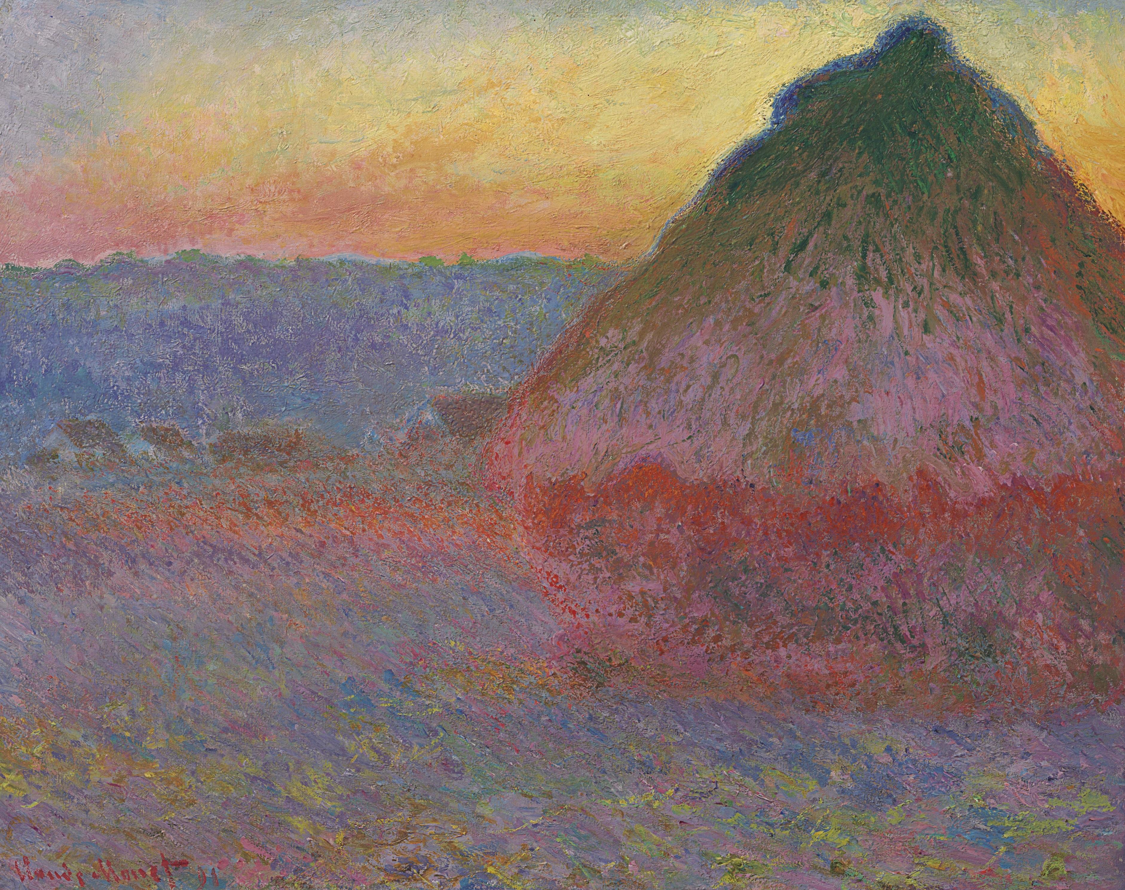 "Monet's ""Muele"" painting."