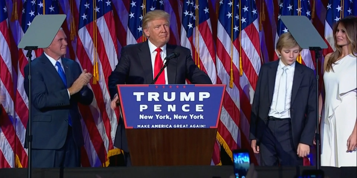 Read Donald Trump's Full Victory Speech After He Won the Presidential Race