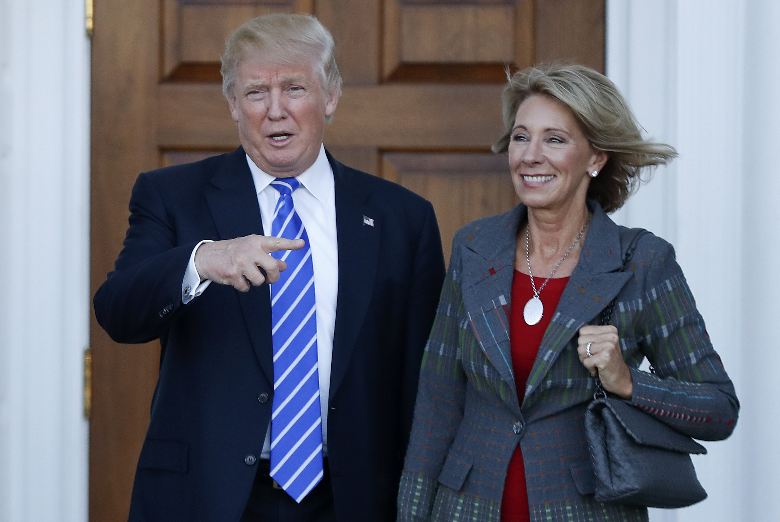 Betsy Devos Trumps Education Pick Plays >> Here S Donald Trump S Choice For Secretary Of Education Fortune