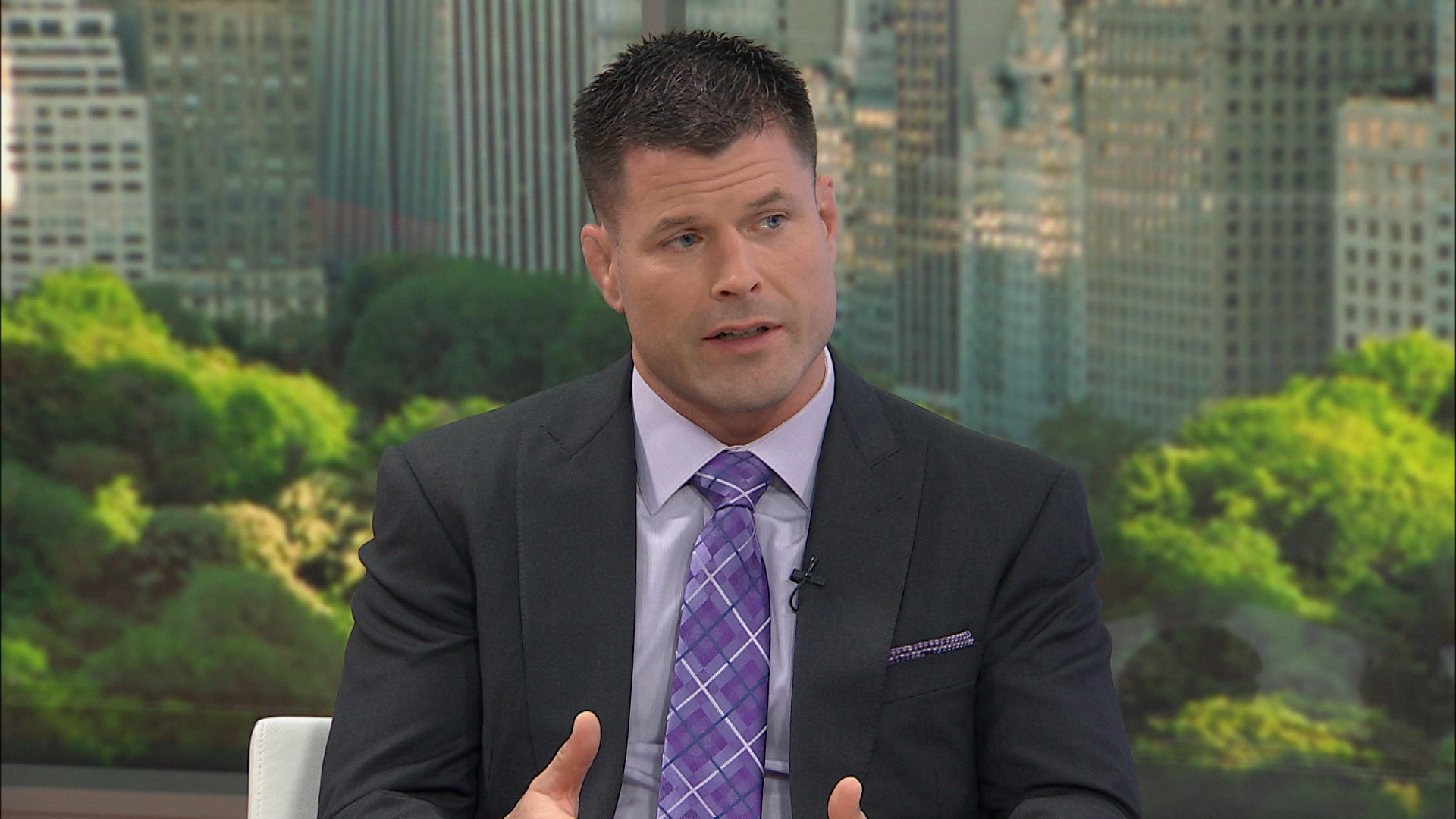 Brian Stann, president and  chief executive of Hire Heroes USA