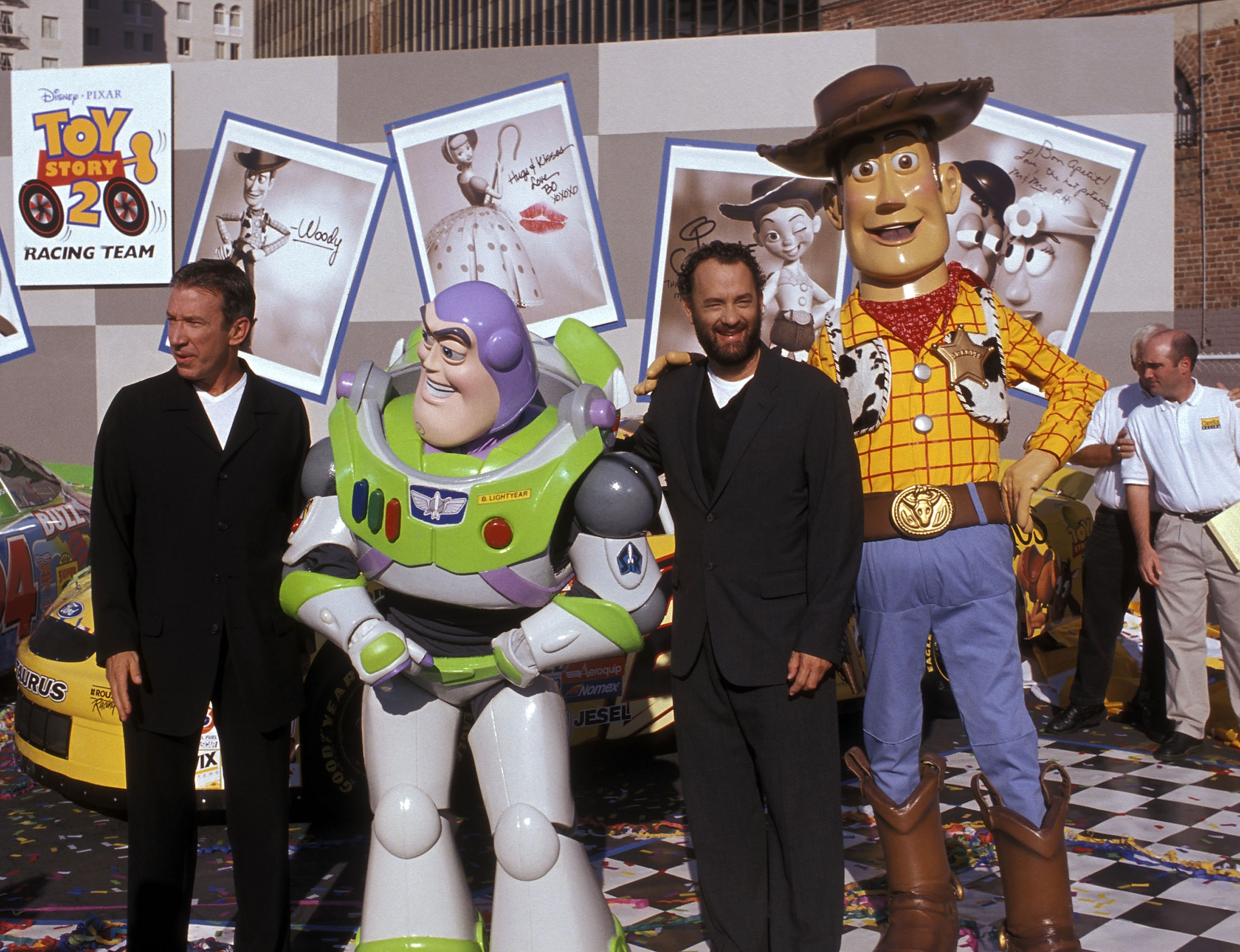 """""""Toy Story 2"""" Themed NASCAR Racing Cars Unveiling"""