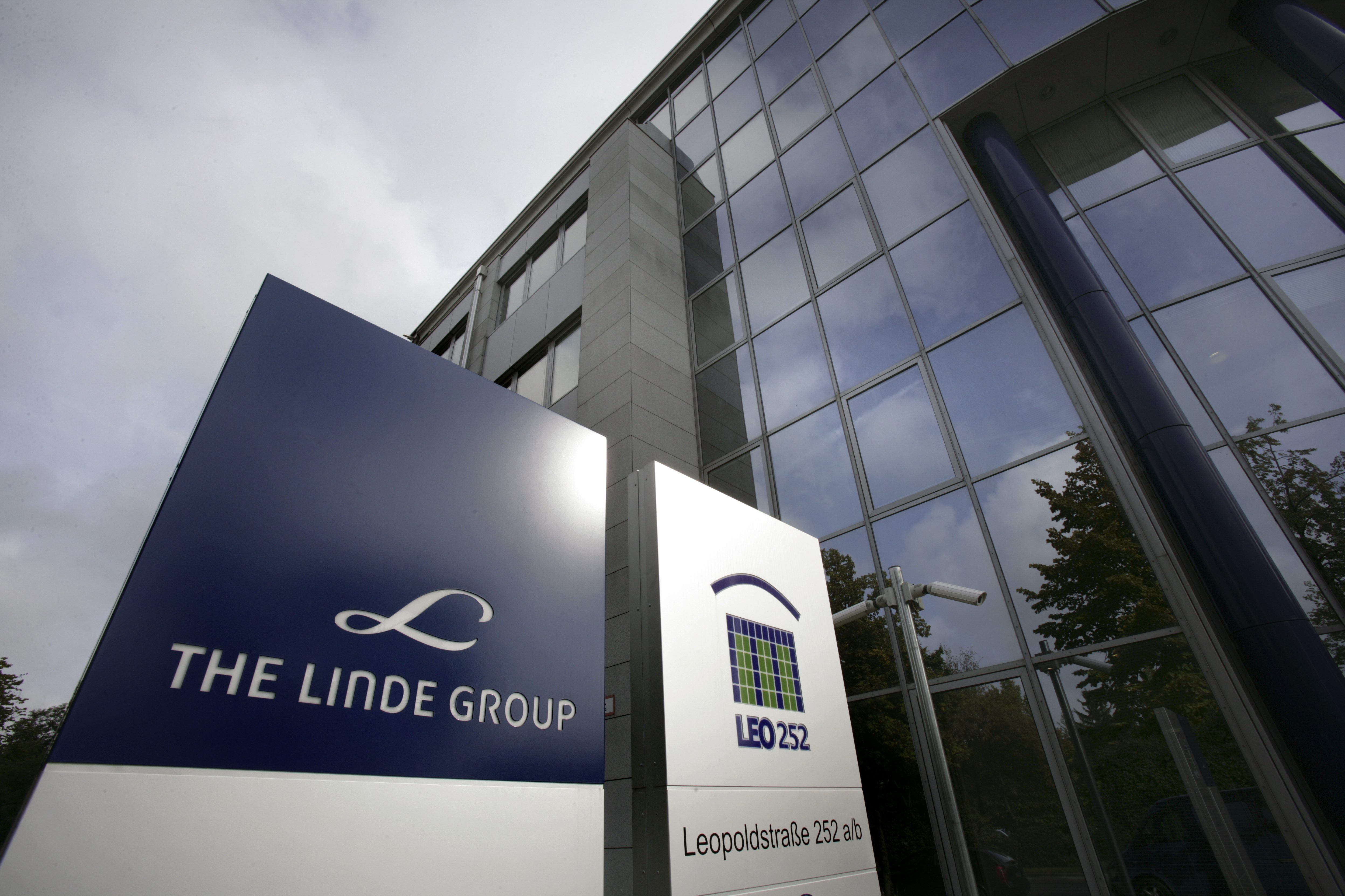 GERMANY, MUNICH, Headquarters of the Linde Group in Munich.