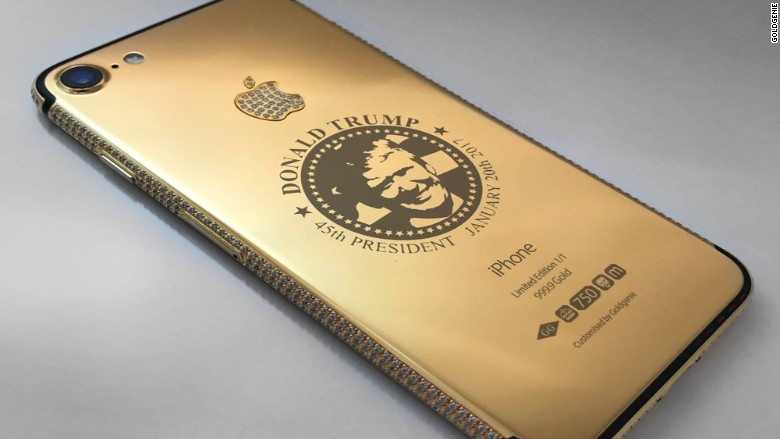 watch 45b15 ac82b Donald Trump Gold iPhones Sell for $151,000 | Fortune
