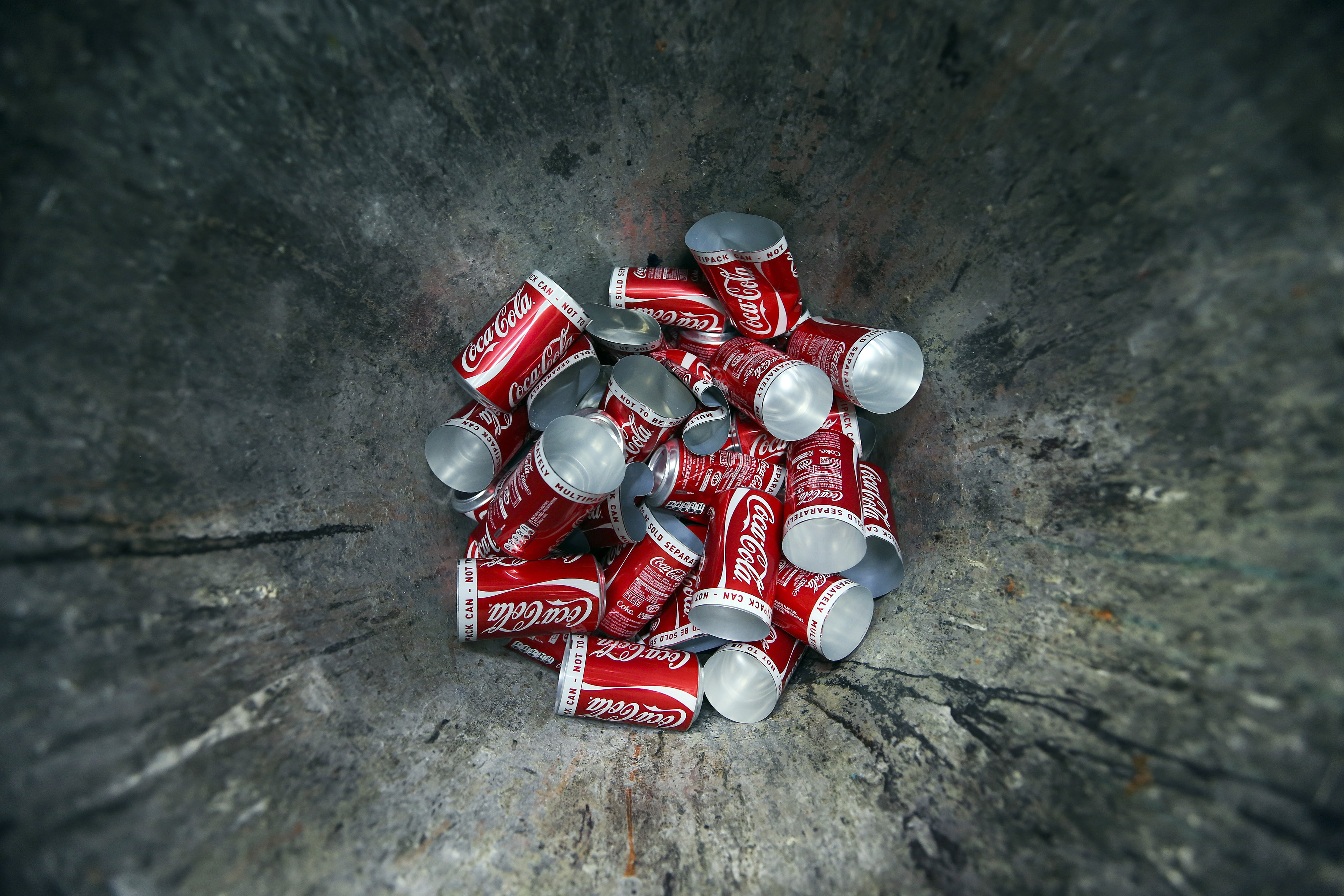 Aluminum Drink Can Manufacture At Rexam Plc's Production Facility