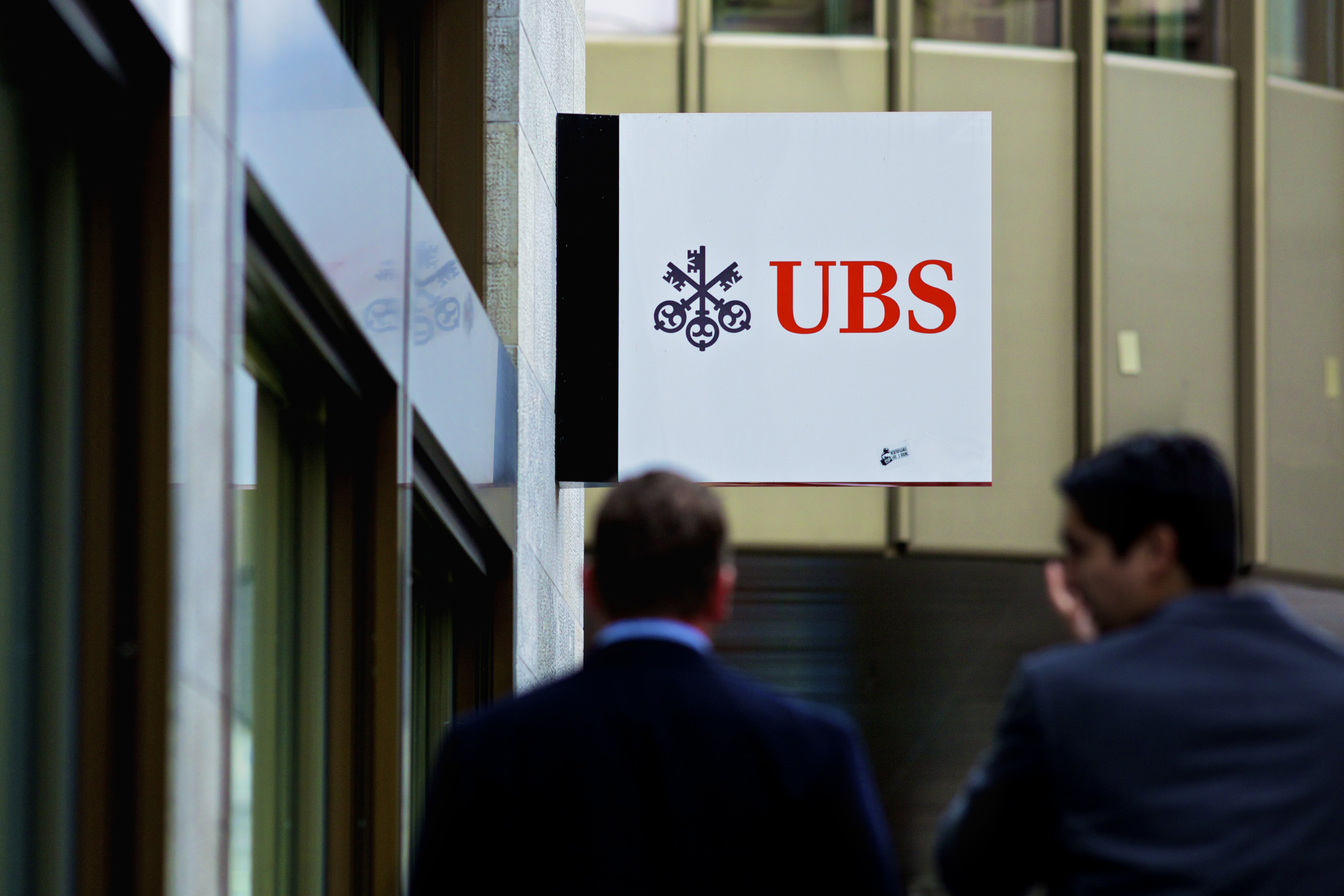 UBS AG Headquarters Ahead Of Third-Quarter Results