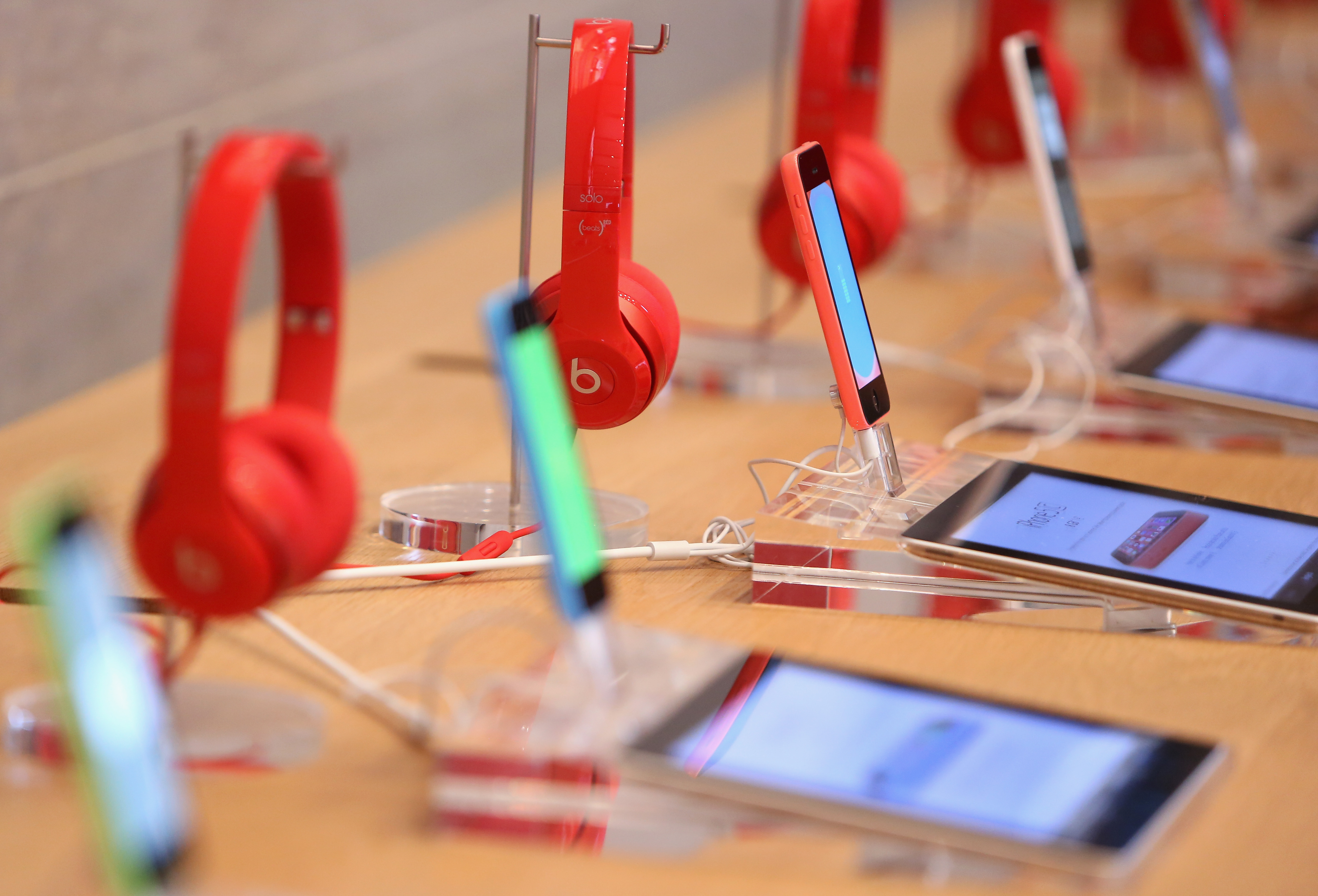 World Aids Day At Apple Store Berlin