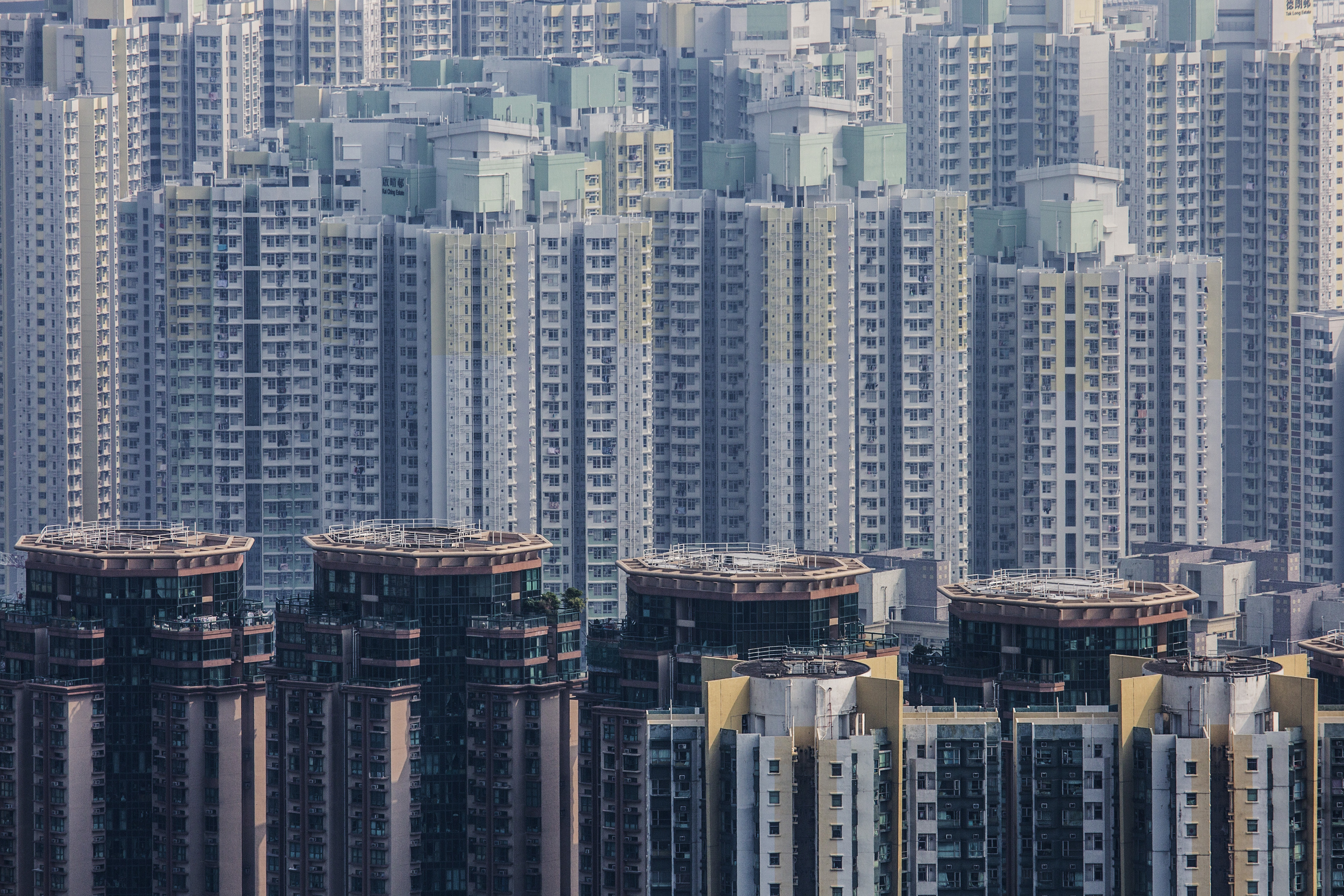 Views Of Property As Hong Kong's Home Prices Rose 9% This Year