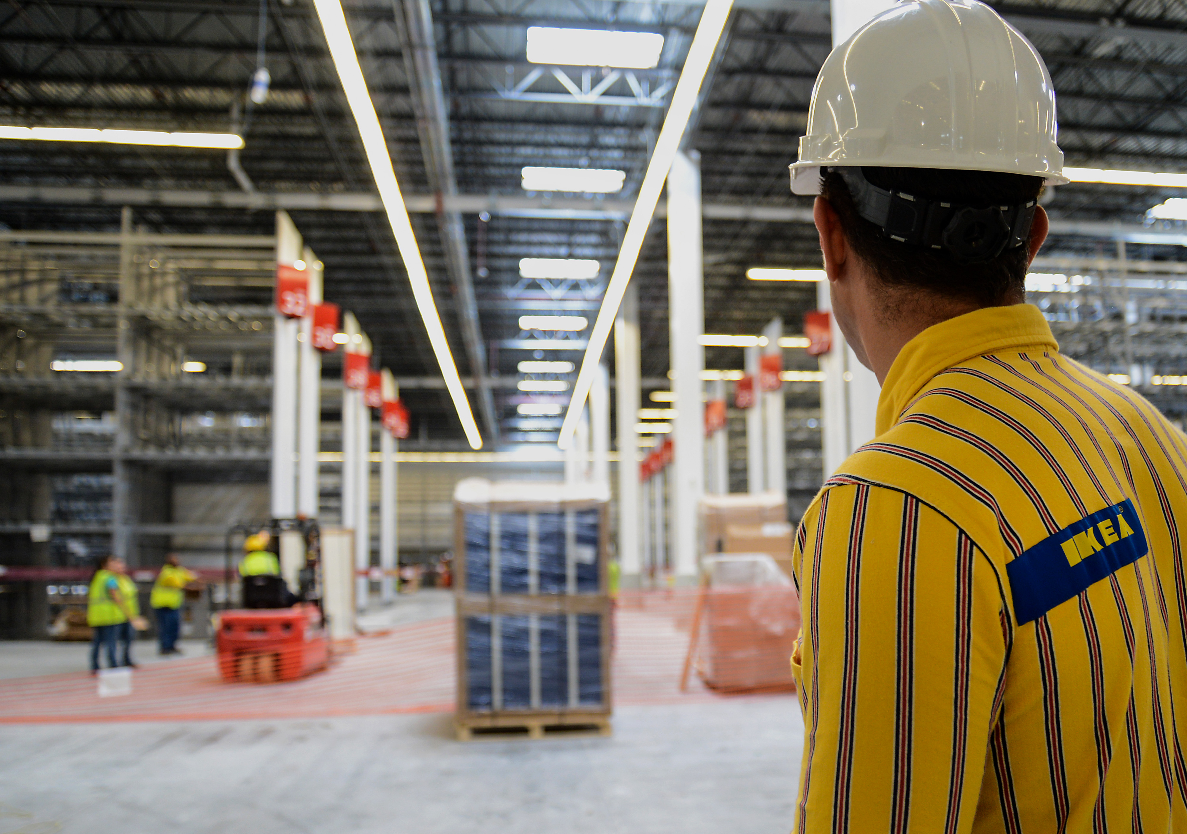 Construction At Miami's New Ikea Group Store