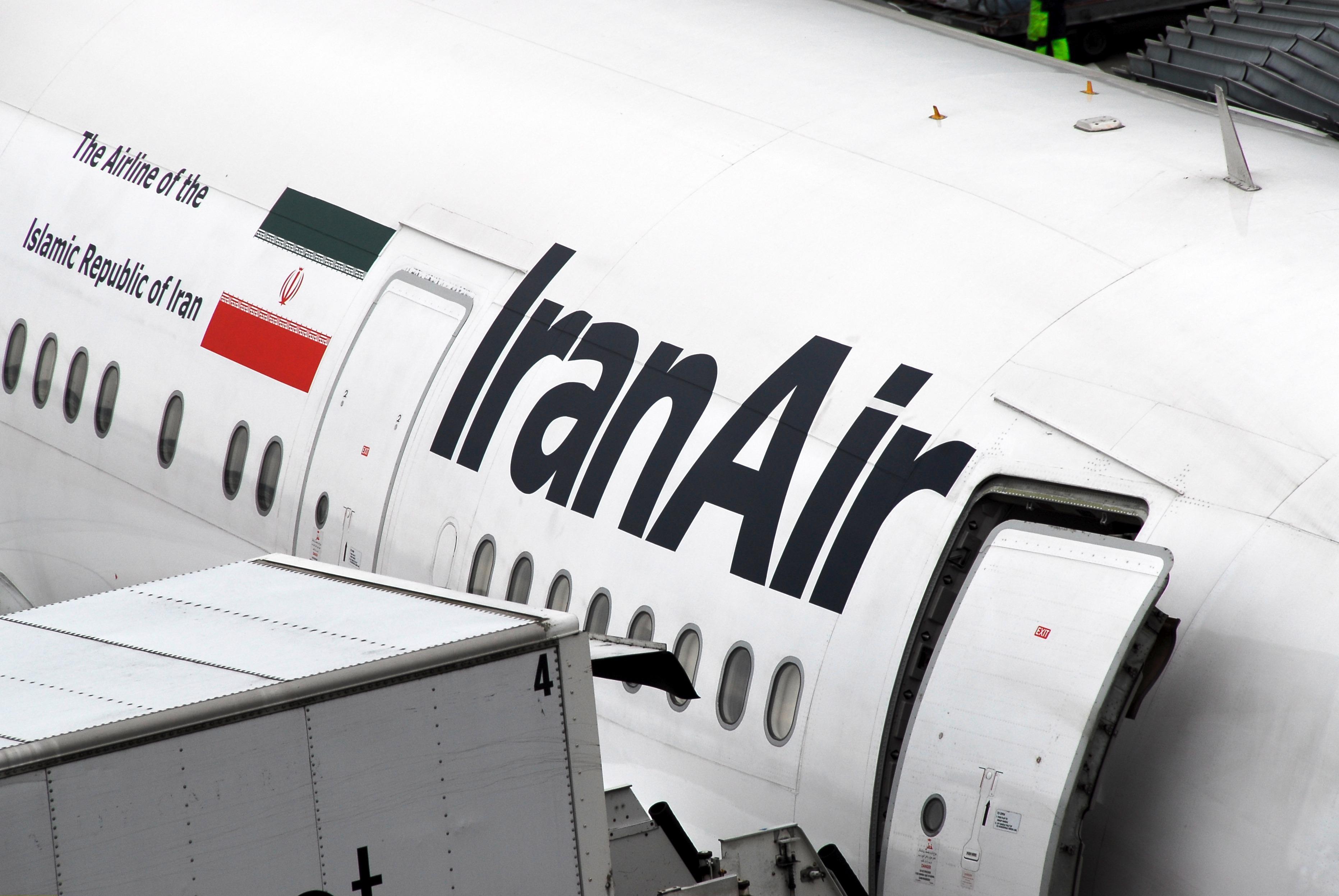 Flugzeug der Iran Air